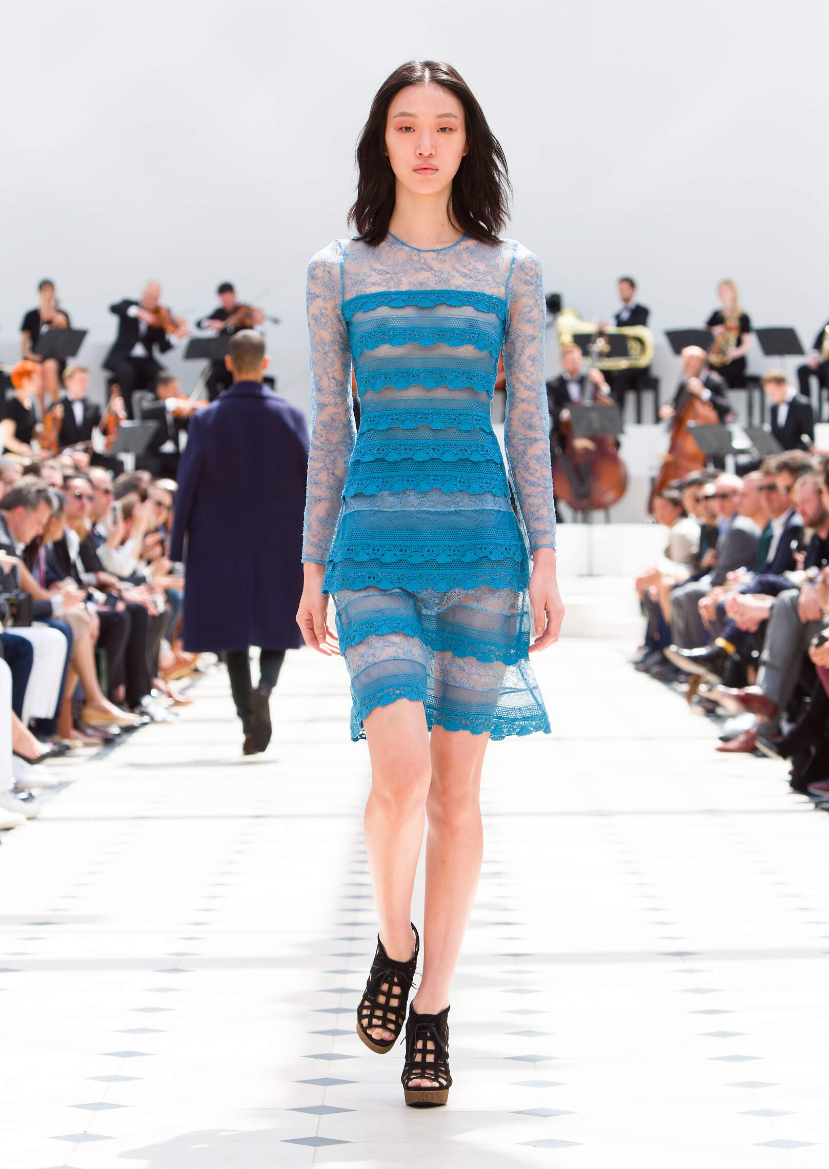 Catwalk Burberry Prorsum Womenswear Collection Summer 2016