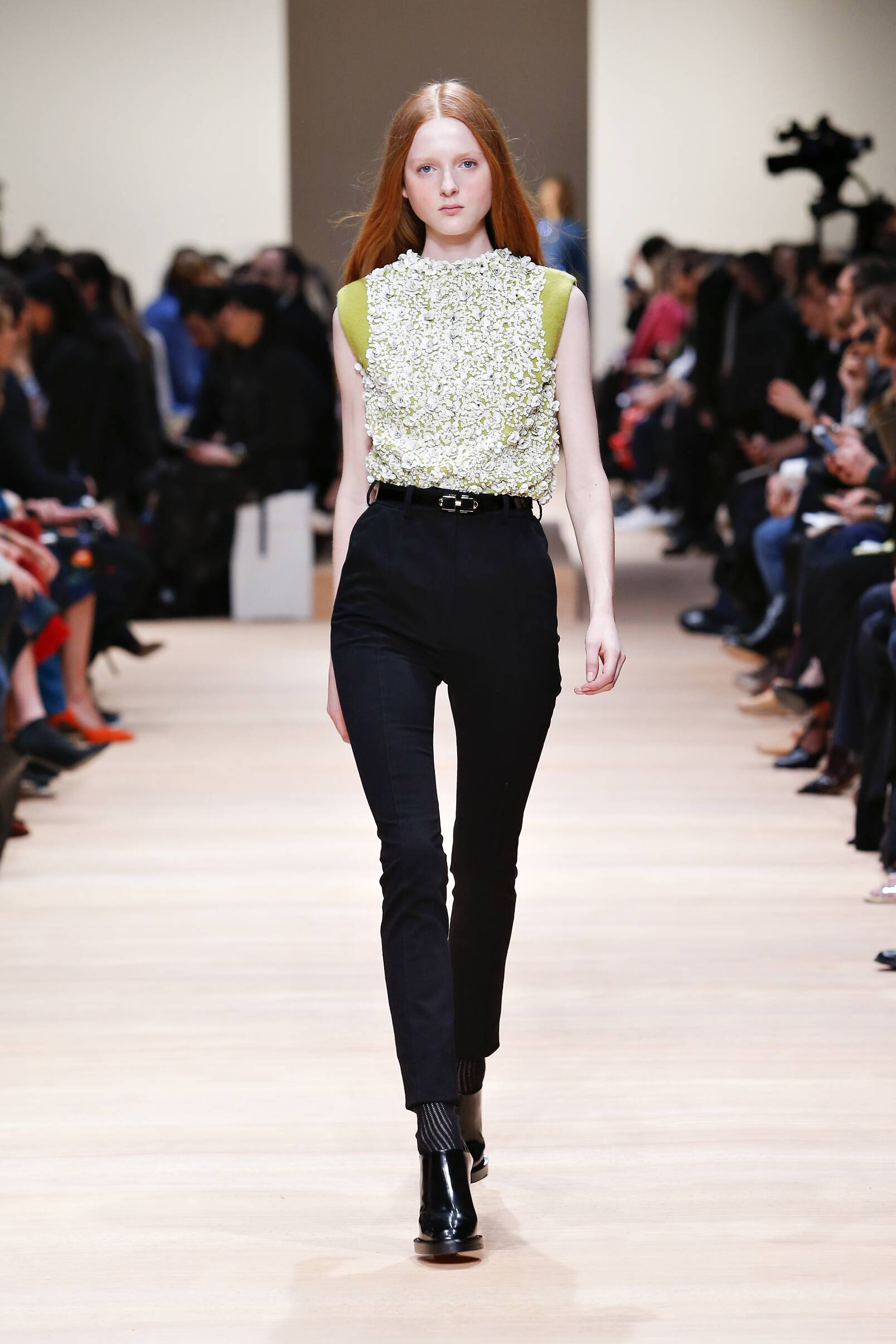 Catwalk Carven Collection Fashion Show Winter 2015