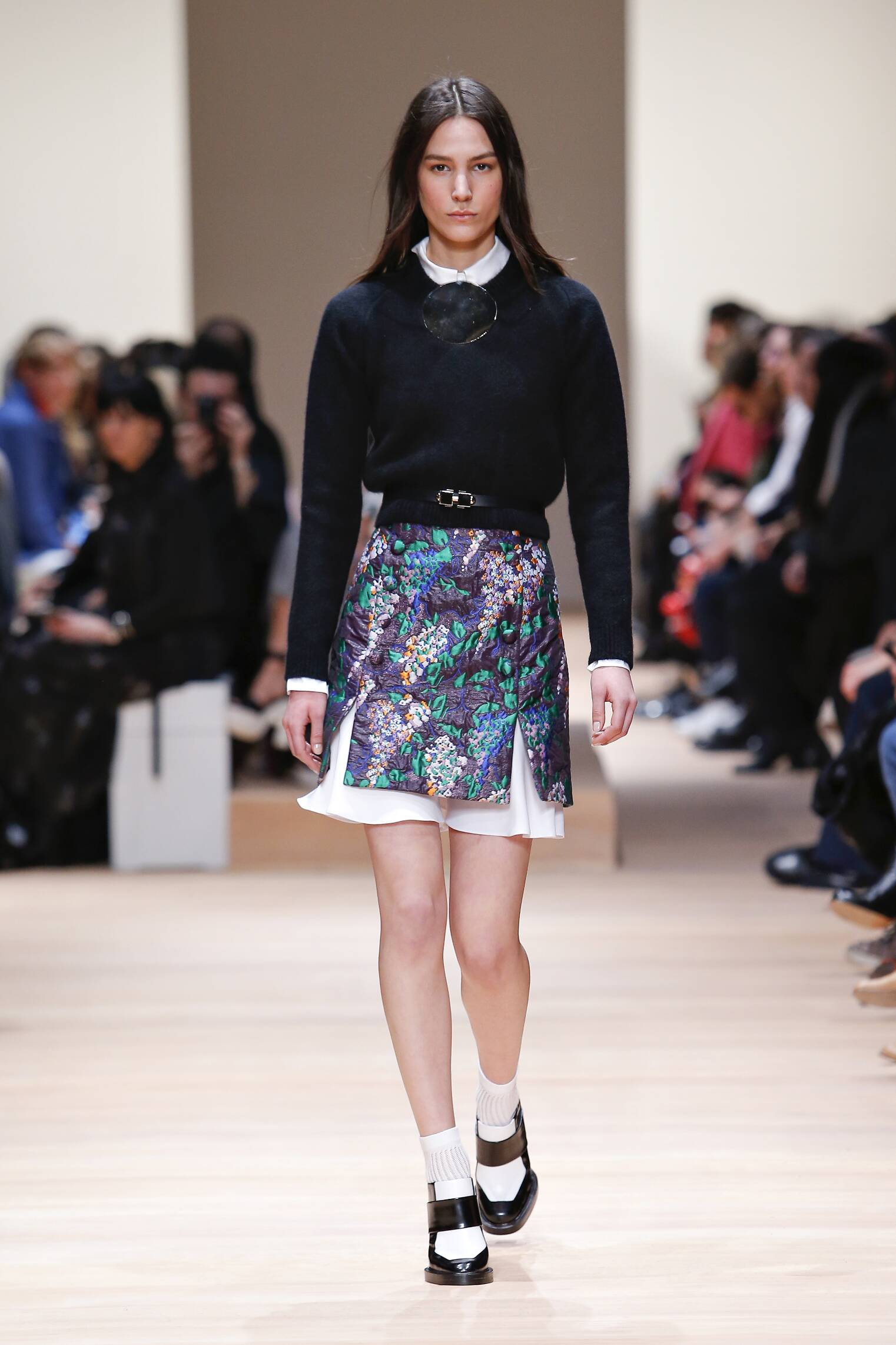 Catwalk Carven Womenswear Collection Winter 2015