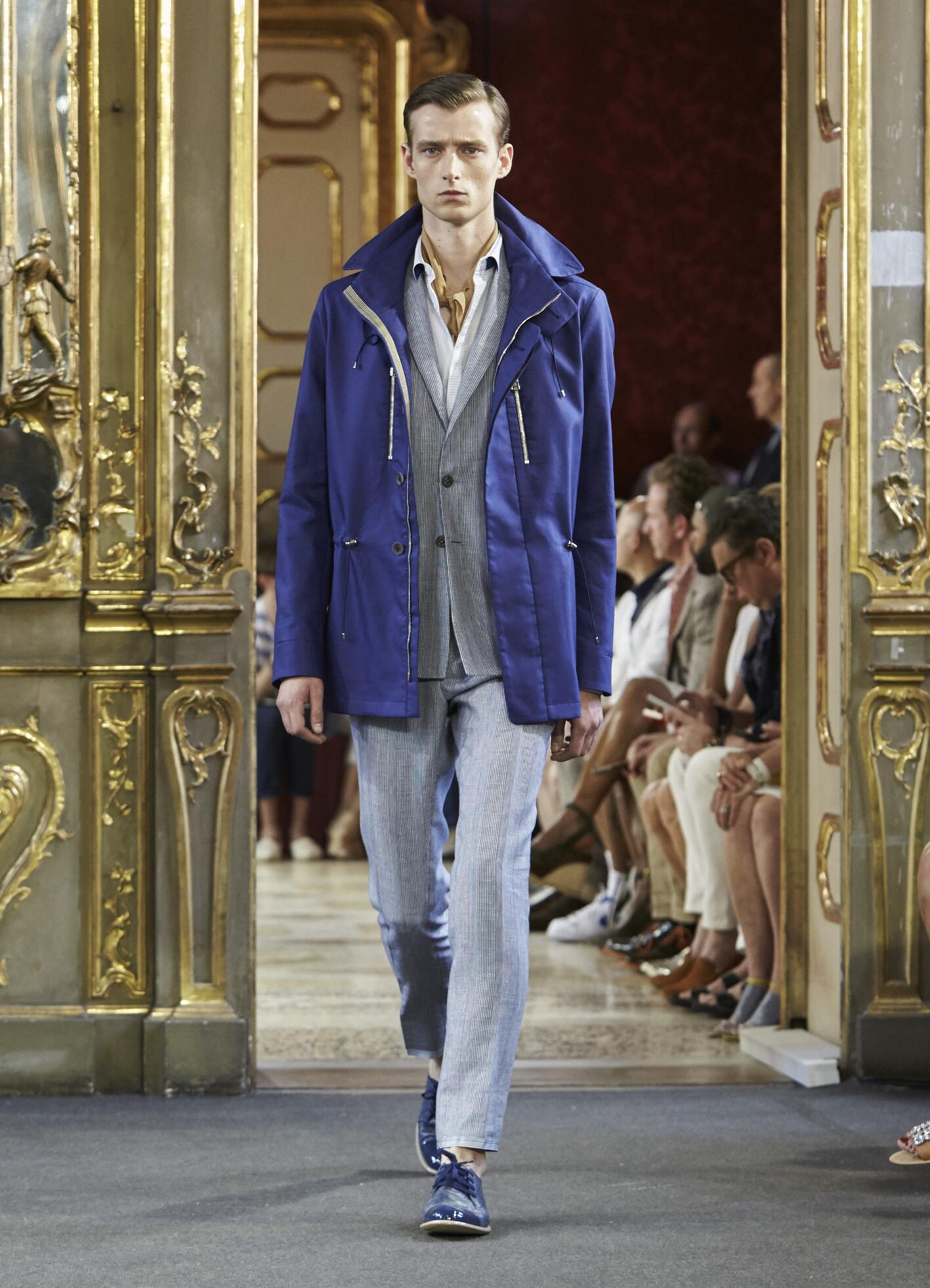 Catwalk Corneliani Menswear Collection Summer 2016