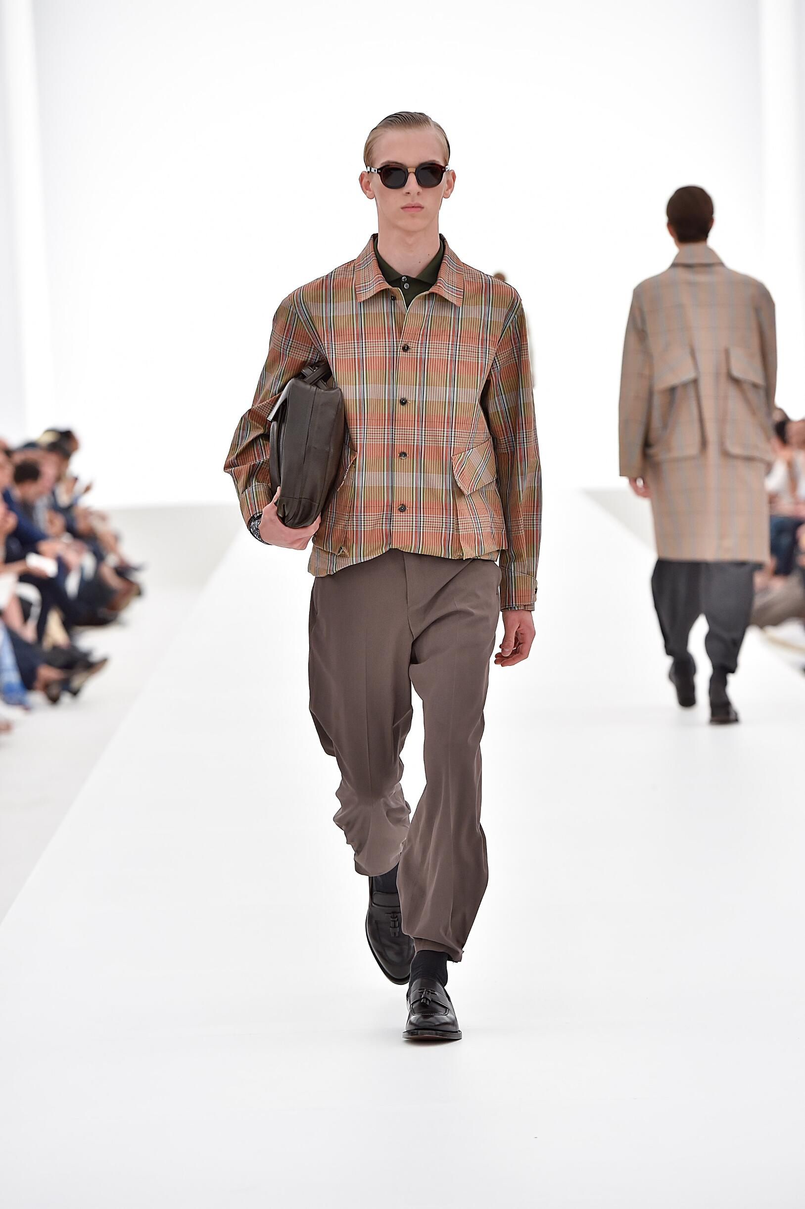 Catwalk Ermenegildo Zegna Couture Collection Fashion Show Summer 2016