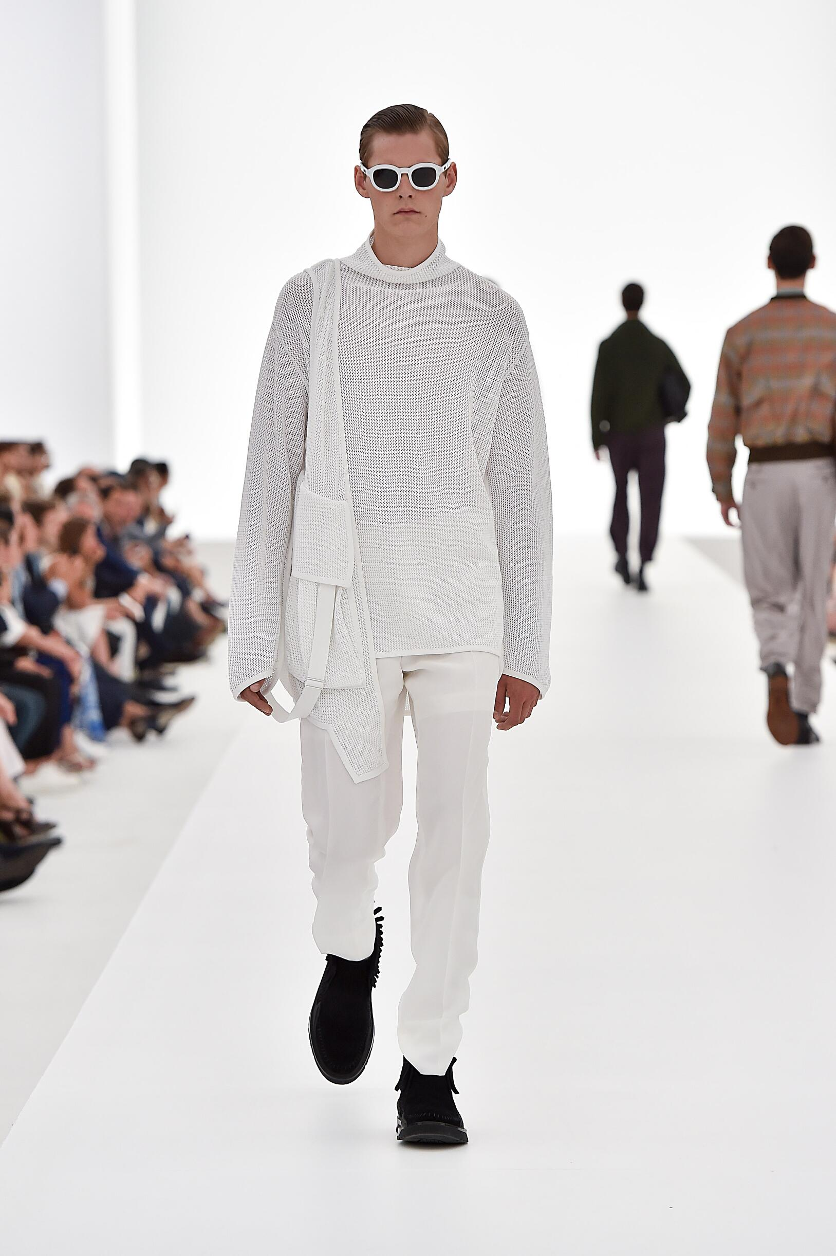 Catwalk Ermenegildo Zegna Couture Spring Summer 2016 Men's Collection Milan Fashion Week