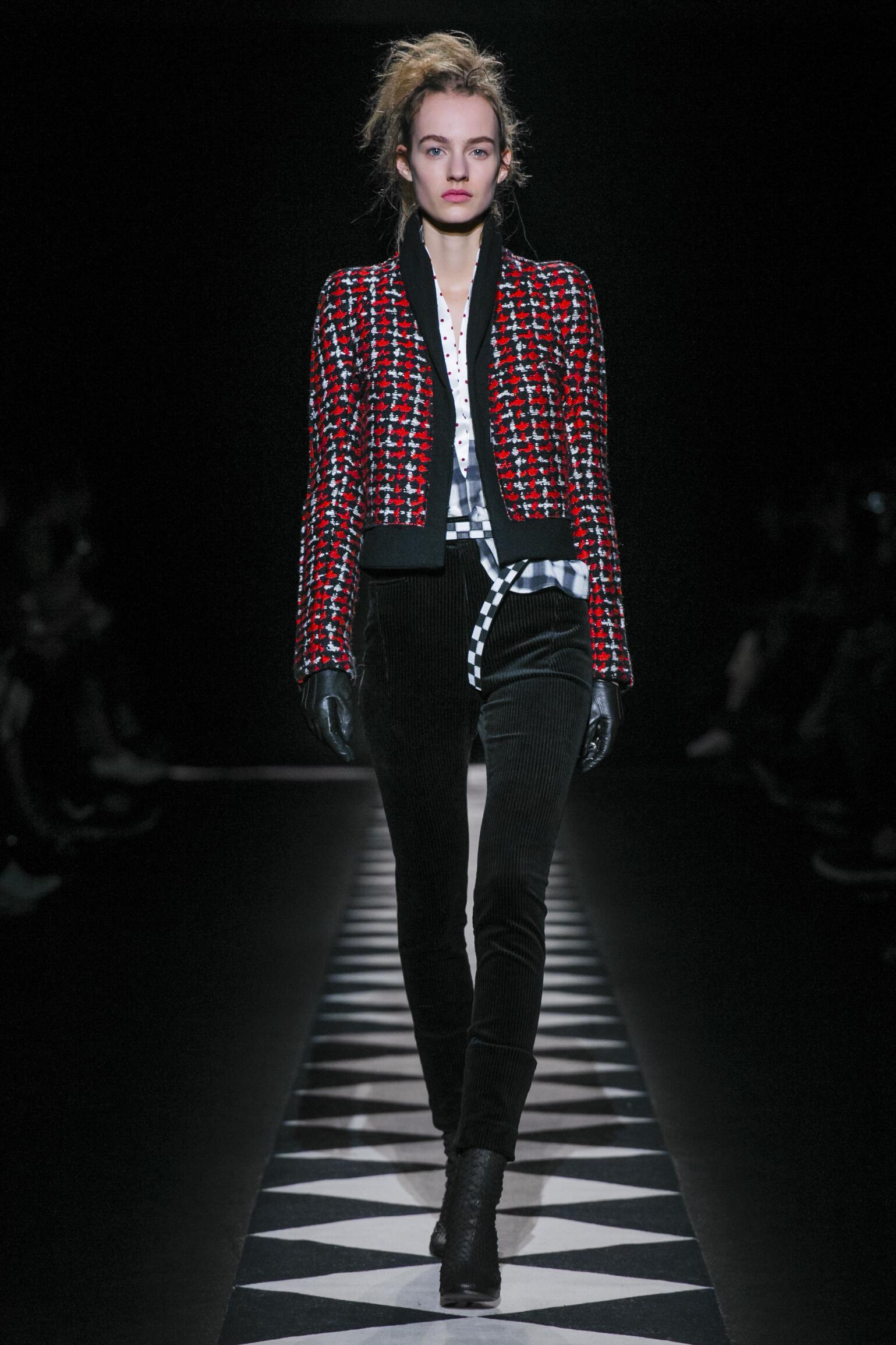 Catwalk Haider Ackermann Womenswear Collection Winter 2015