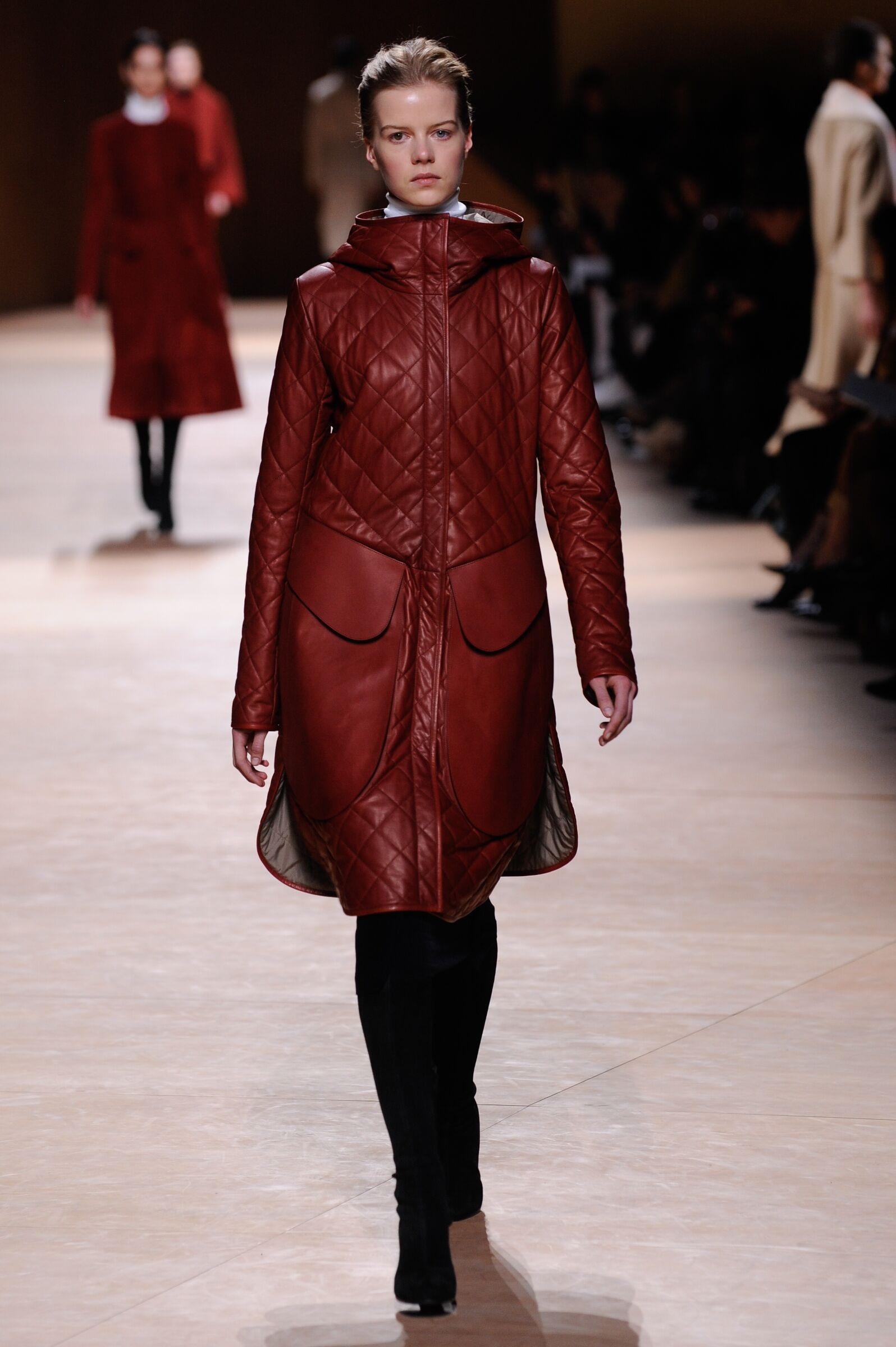 Catwalk Hermès Collection Fashion Show Winter 2015