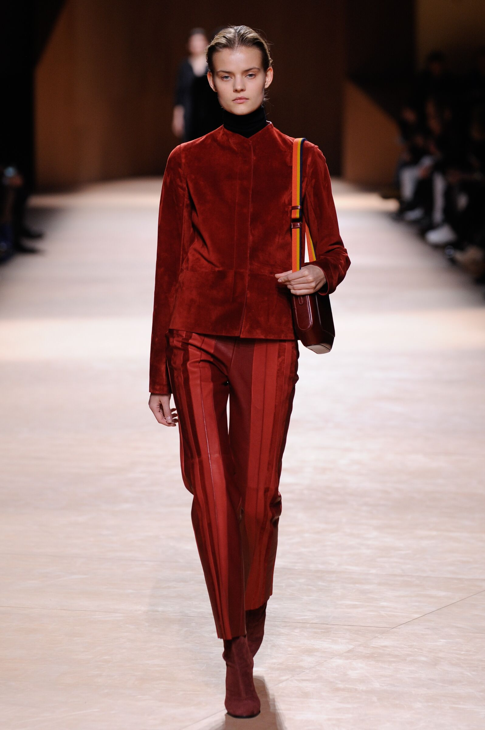 Catwalk Hermès Fall Winter 2015 16 Women's Collection Paris Fashion Week
