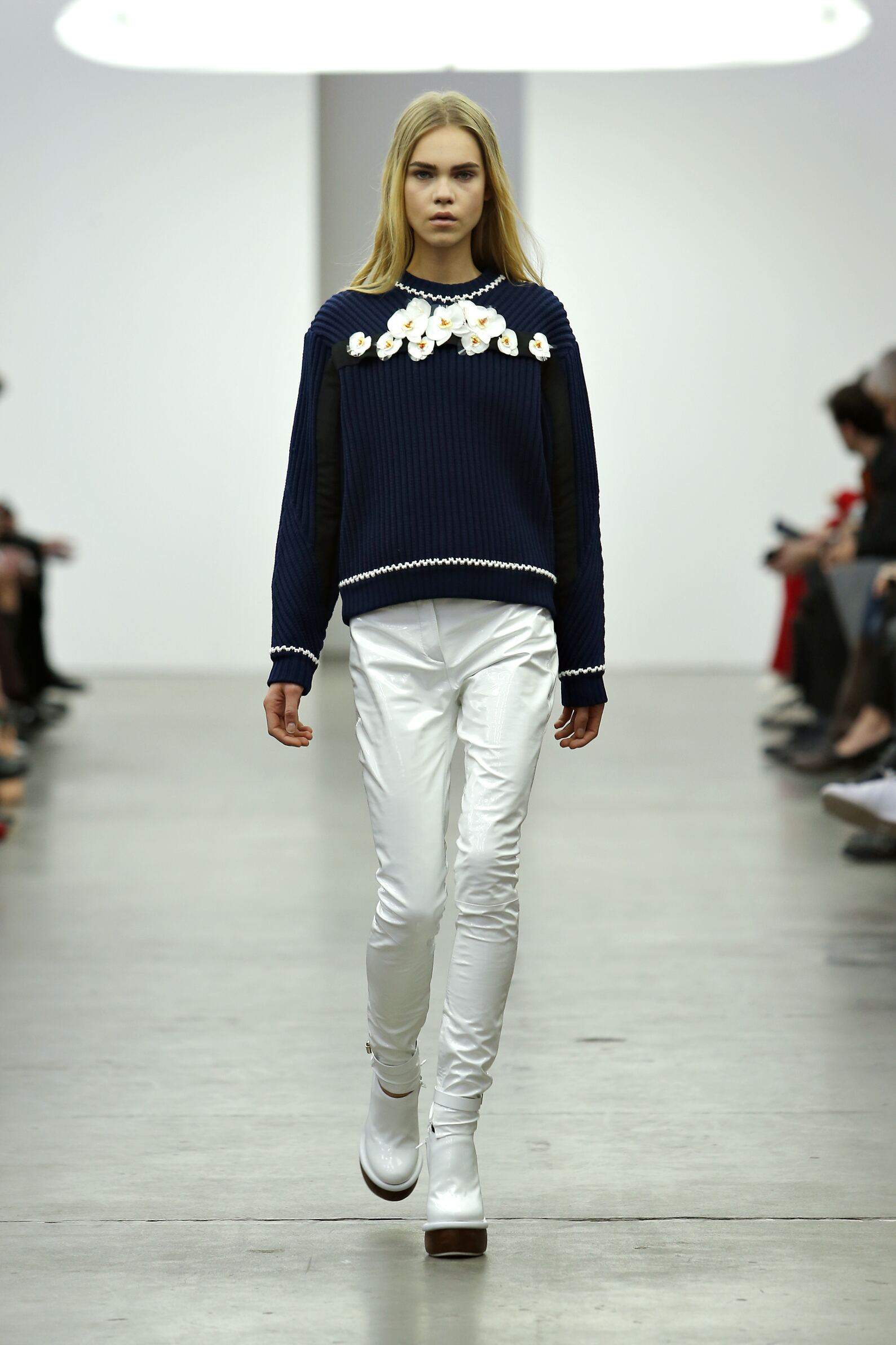 Catwalk Iceberg Fall Winter 2015 16 Women's Collection Milan Fashion Week