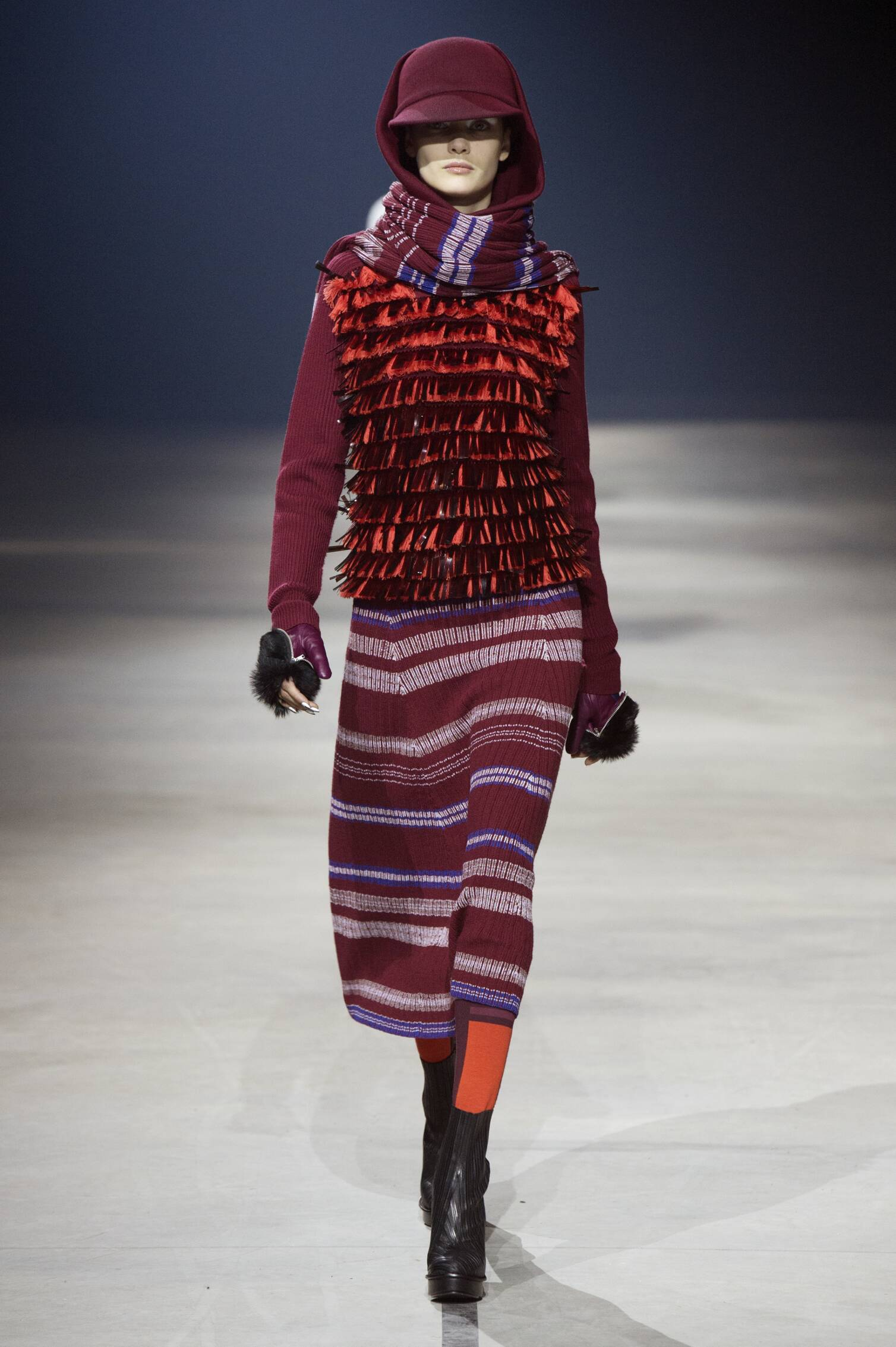 Catwalk Kenzo Collection Fashion Show Winter 2015