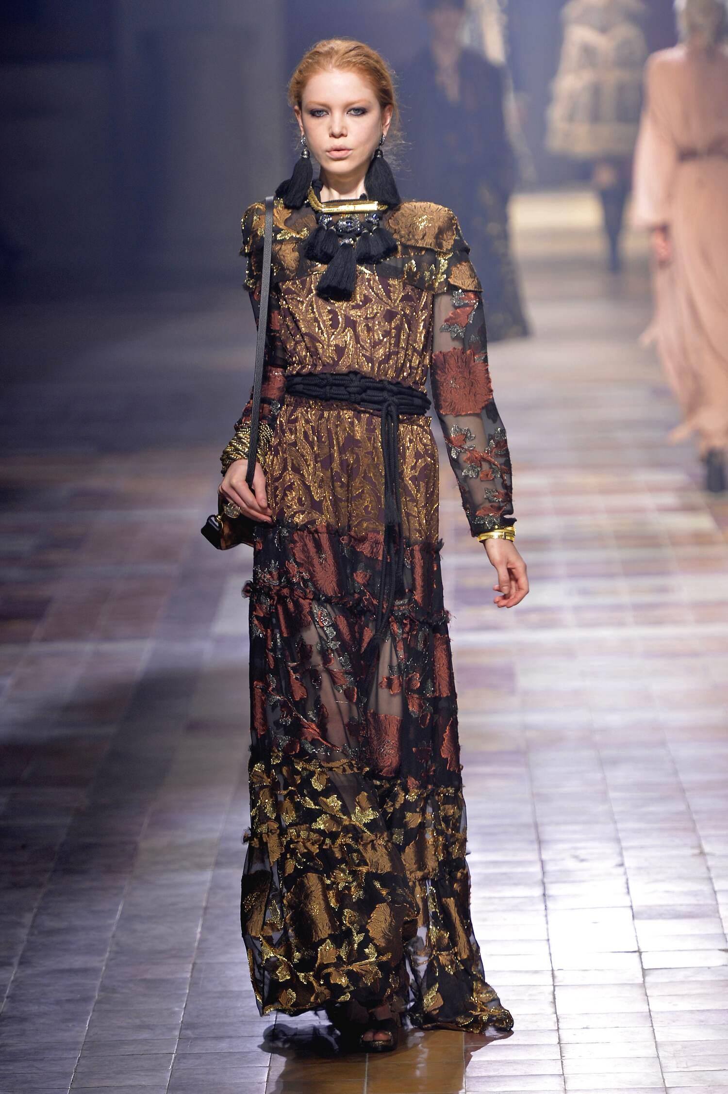 Catwalk Lanvin Collection Fashion Show Winter 2015