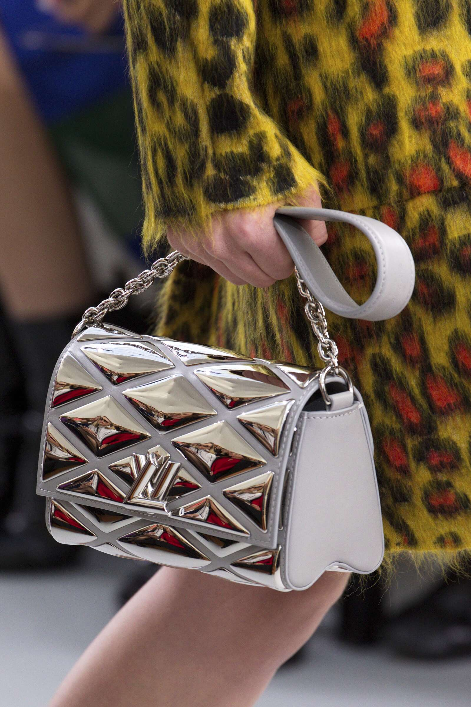 Catwalk Louis Vuitton Bag Details Collection Fashion Show Winter 2015