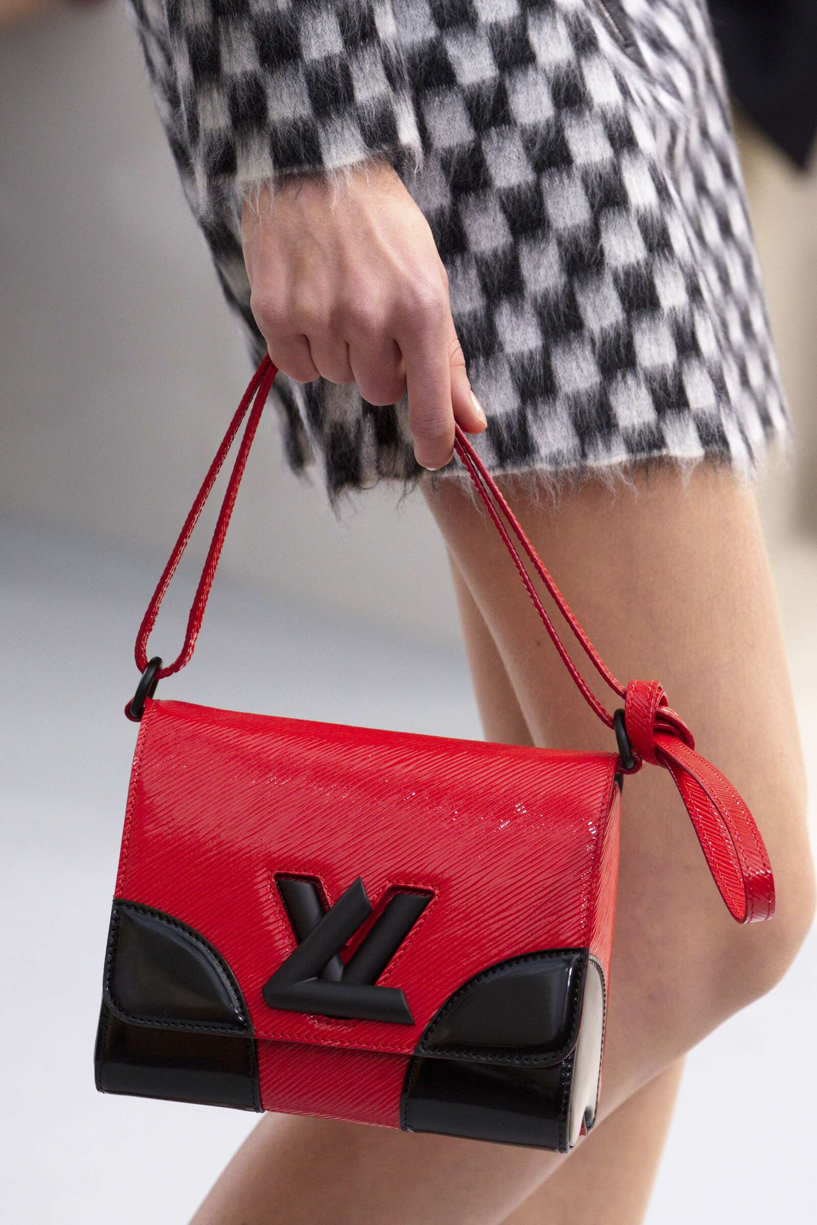 Catwalk Louis Vuitton Bag Details Womenswear Collection Winter 2015