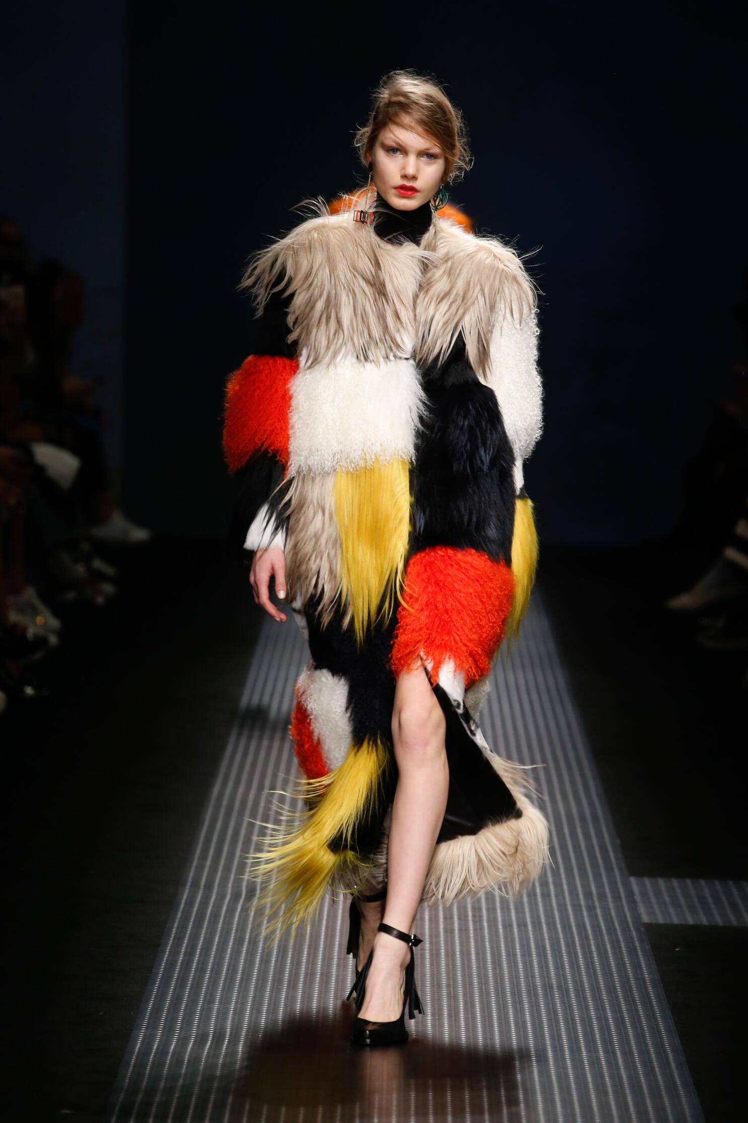 Catwalk Msgm Collection Fashion Show Winter 2015