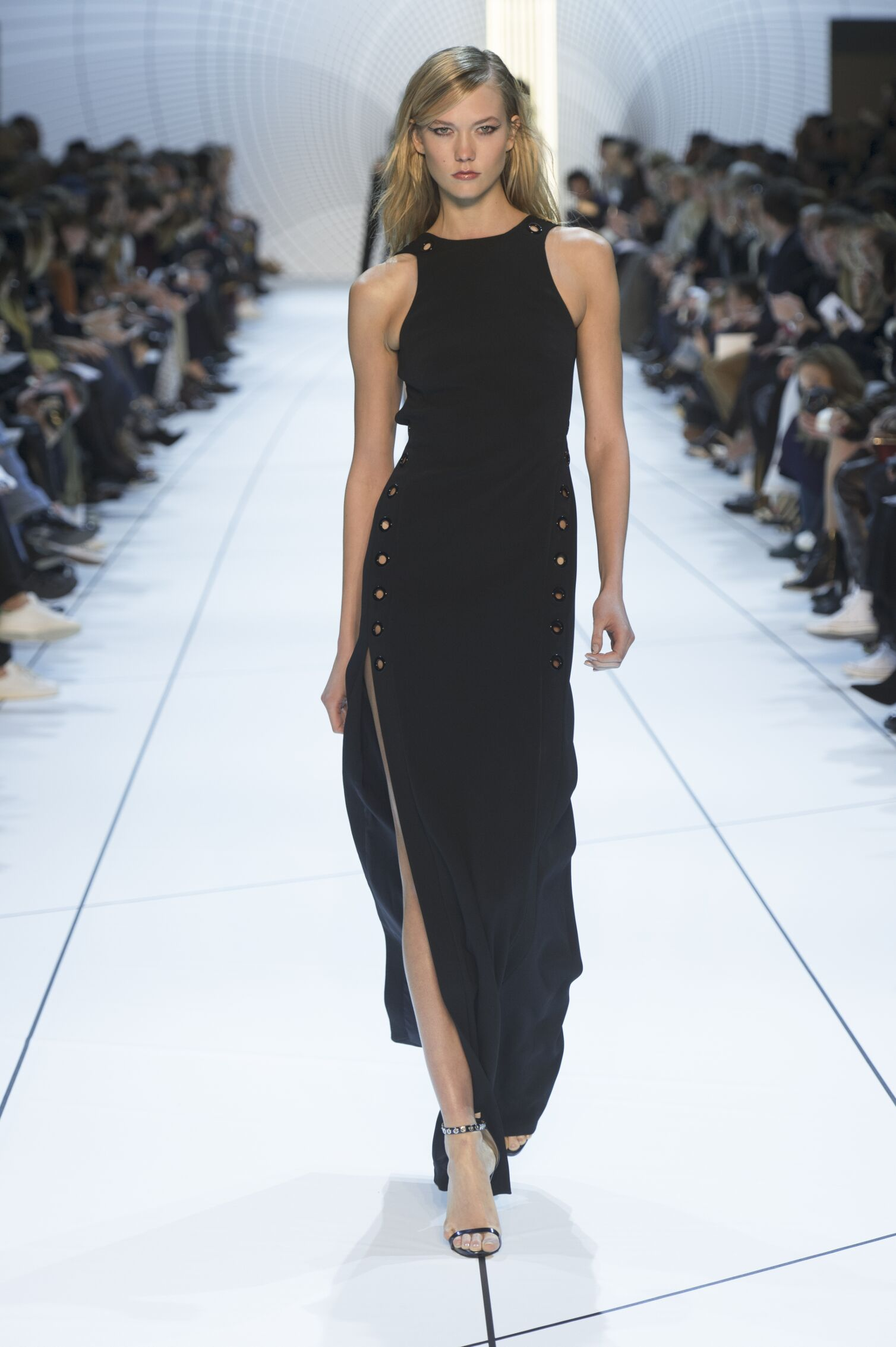 Catwalk Mugler Collection Fashion Show Winter 2015