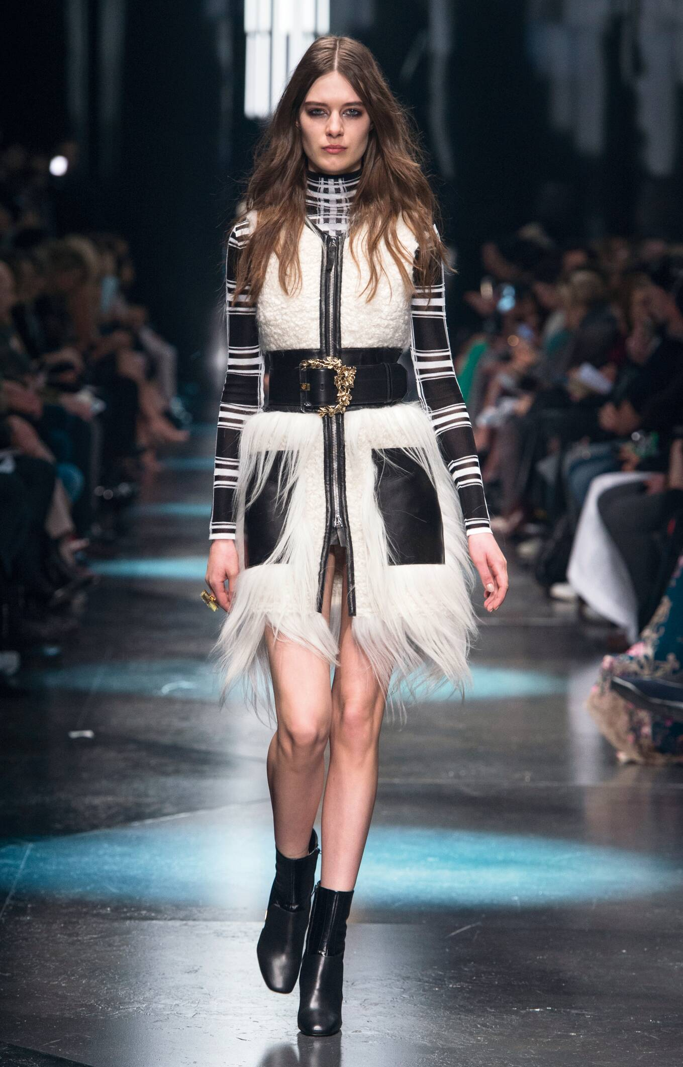 Catwalk Roberto Cavalli Collection Fashion Show Winter 2015