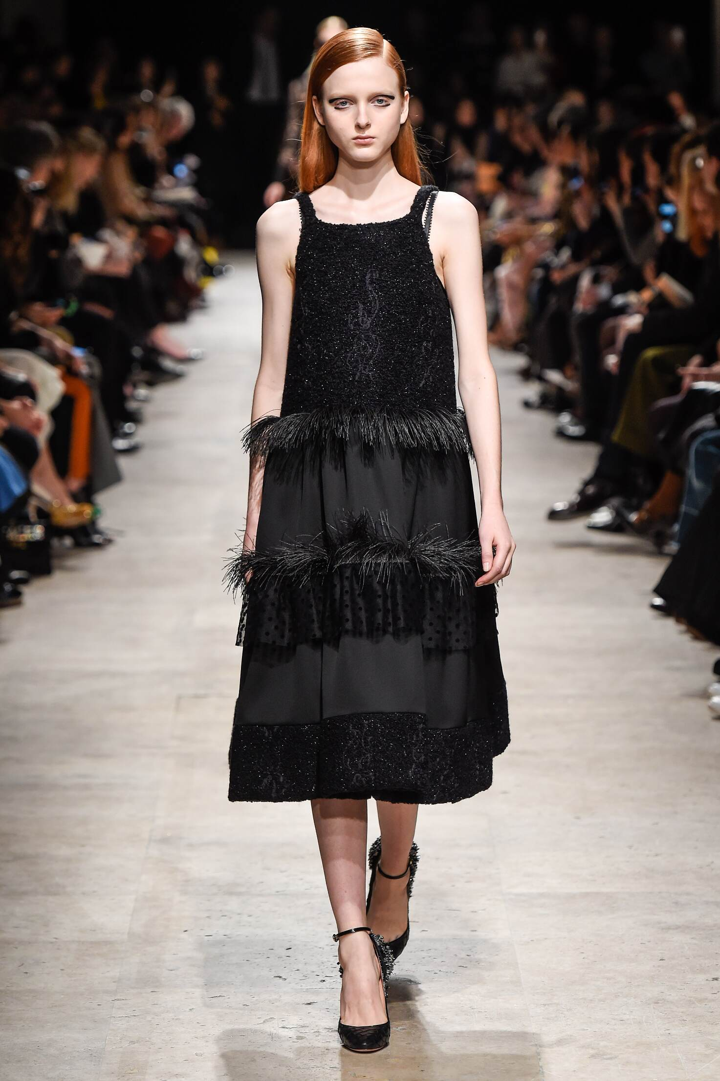 Catwalk Rochas Collection Fashion Show Winter 2015