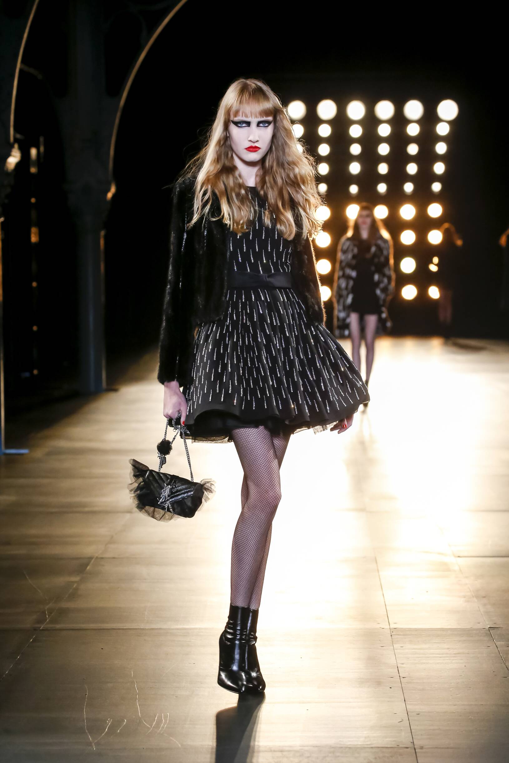 Catwalk Saint Laurent Womenswear Collection Winter 2015