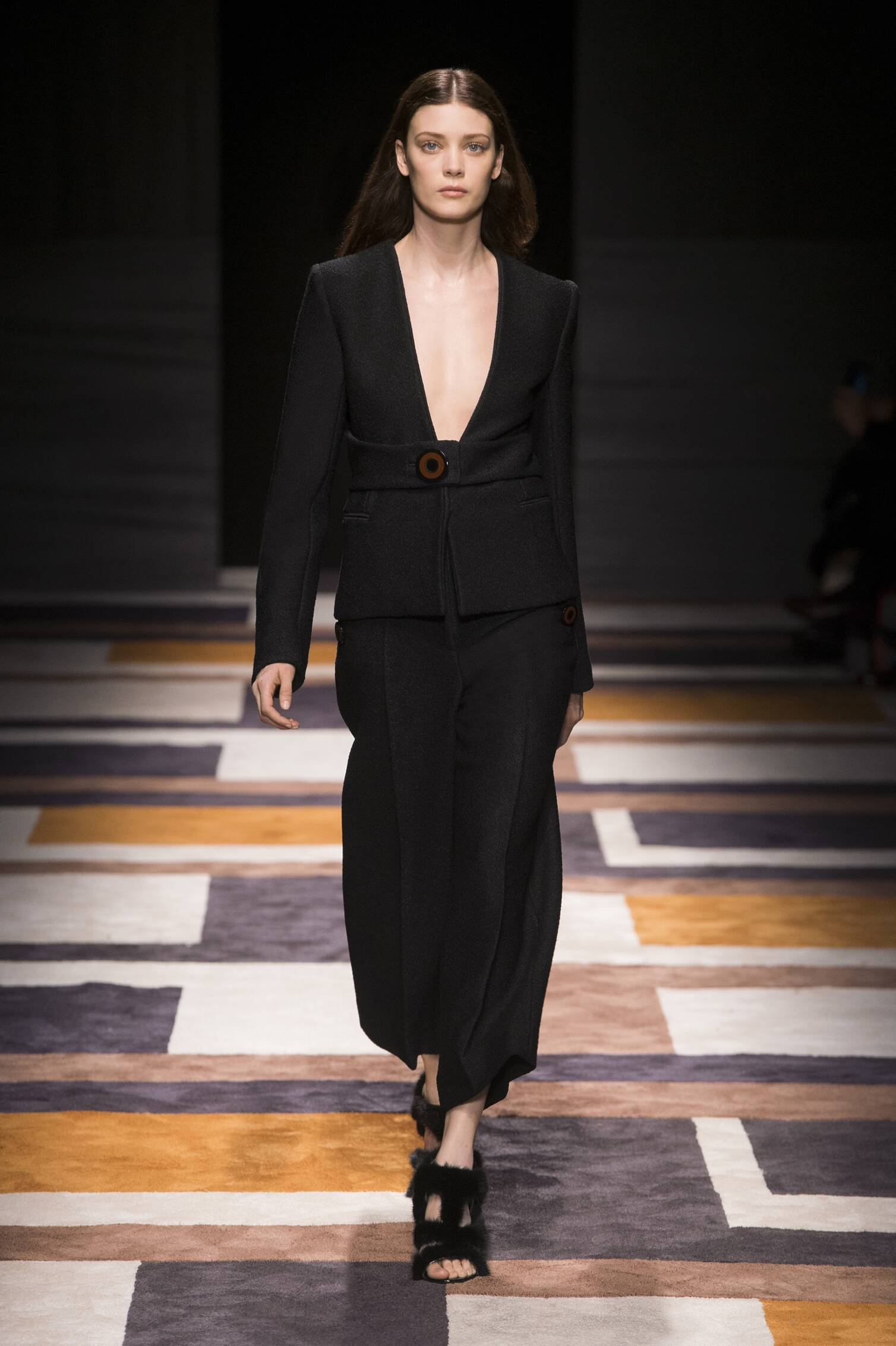 Catwalk Salvatore Ferragamo Fall Winter 2015 16 Women's Collection Milan Fashion Week