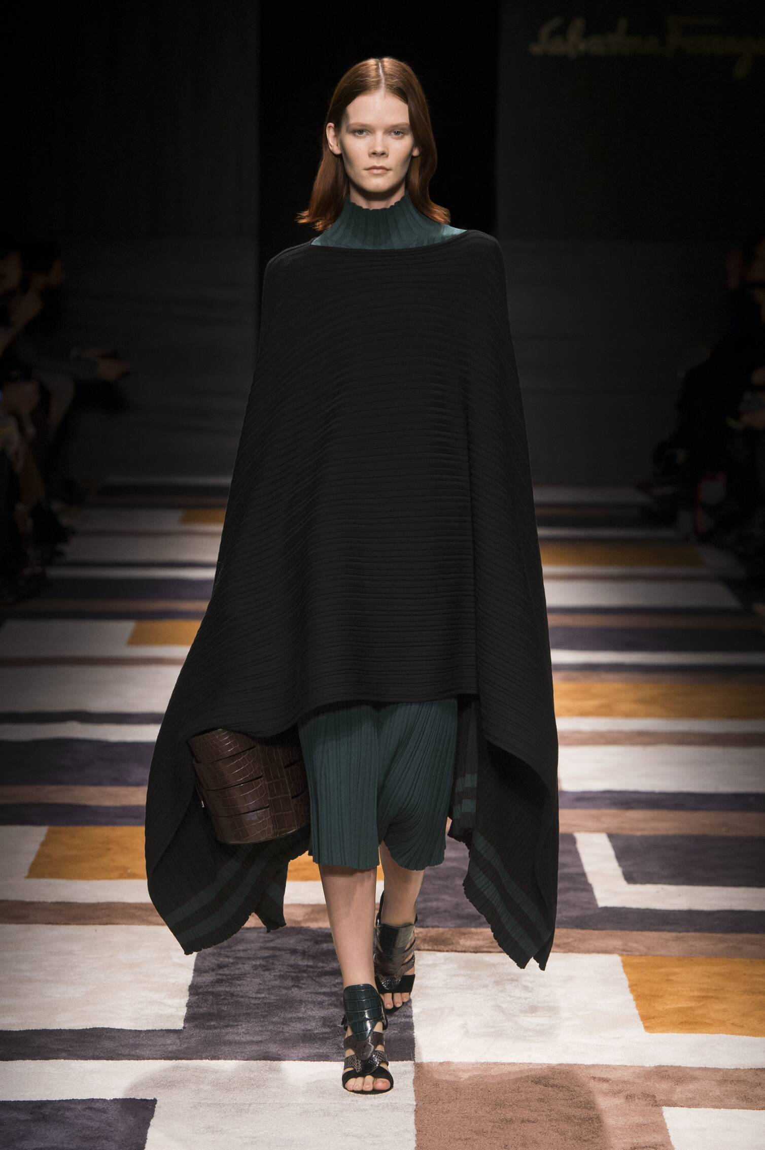 Catwalk Salvatore Ferragamo Womenswear Collection Winter 2015