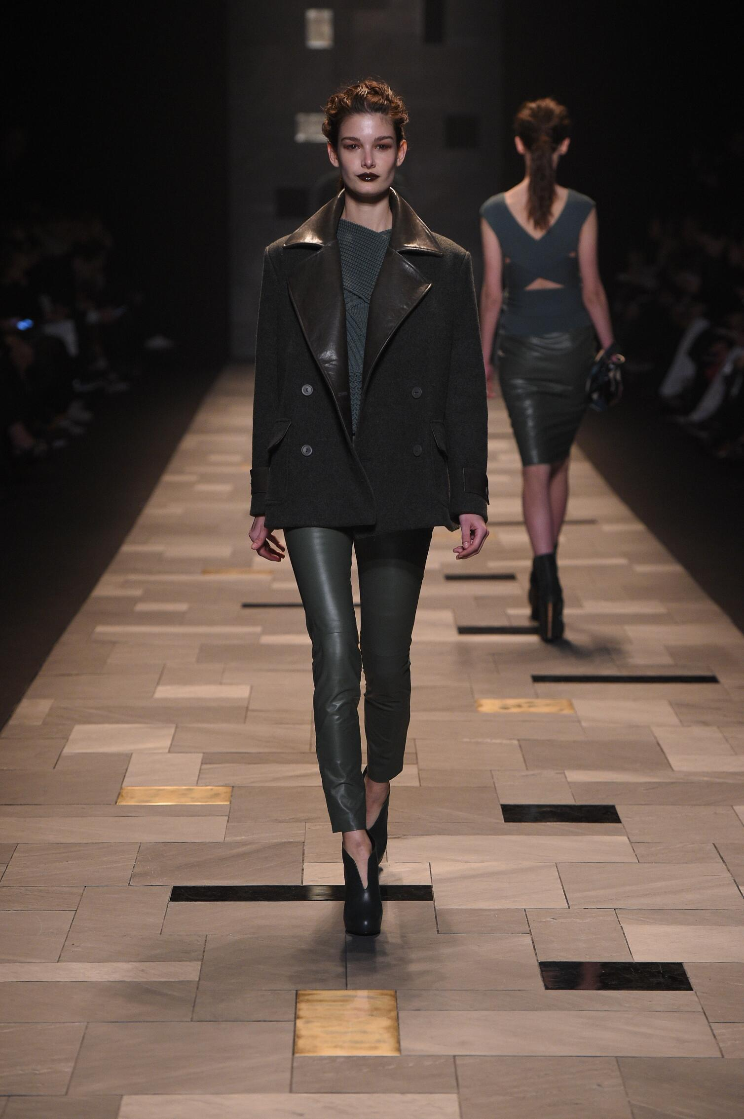 Catwalk Trussardi Collection Fashion Show Winter 2015