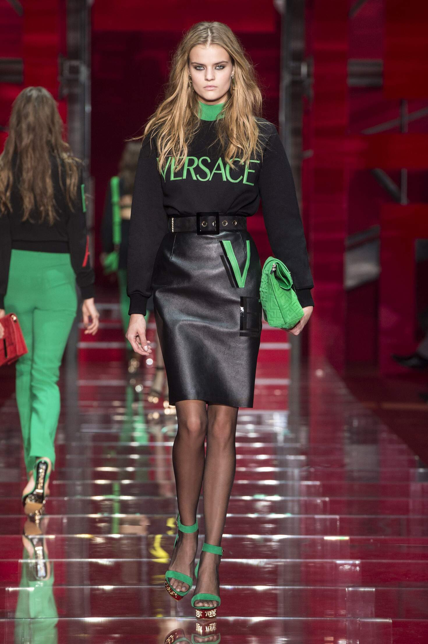 Catwalk Versace Collection Fashion Show Winter 2015