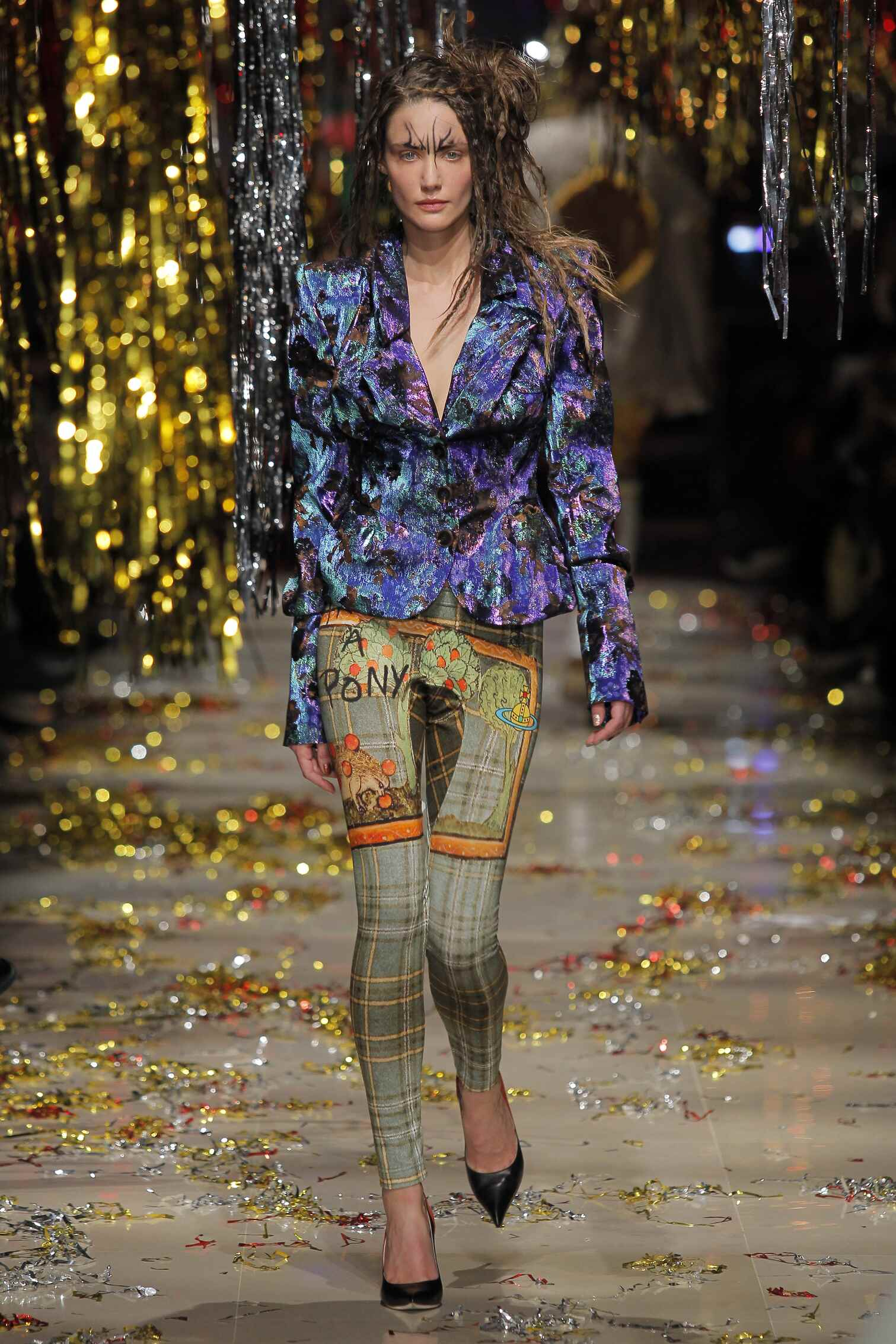 Catwalk Vivienne Westwood Gold Label Fall Winter 2015 16 Women's Collection Paris Fashion Week