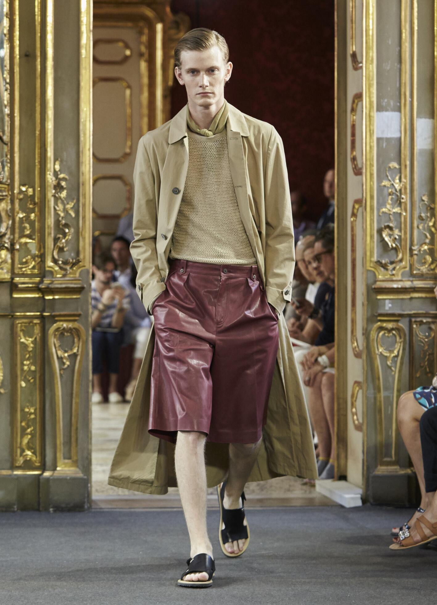 Corneliani Collection Fashion Show SS 2016