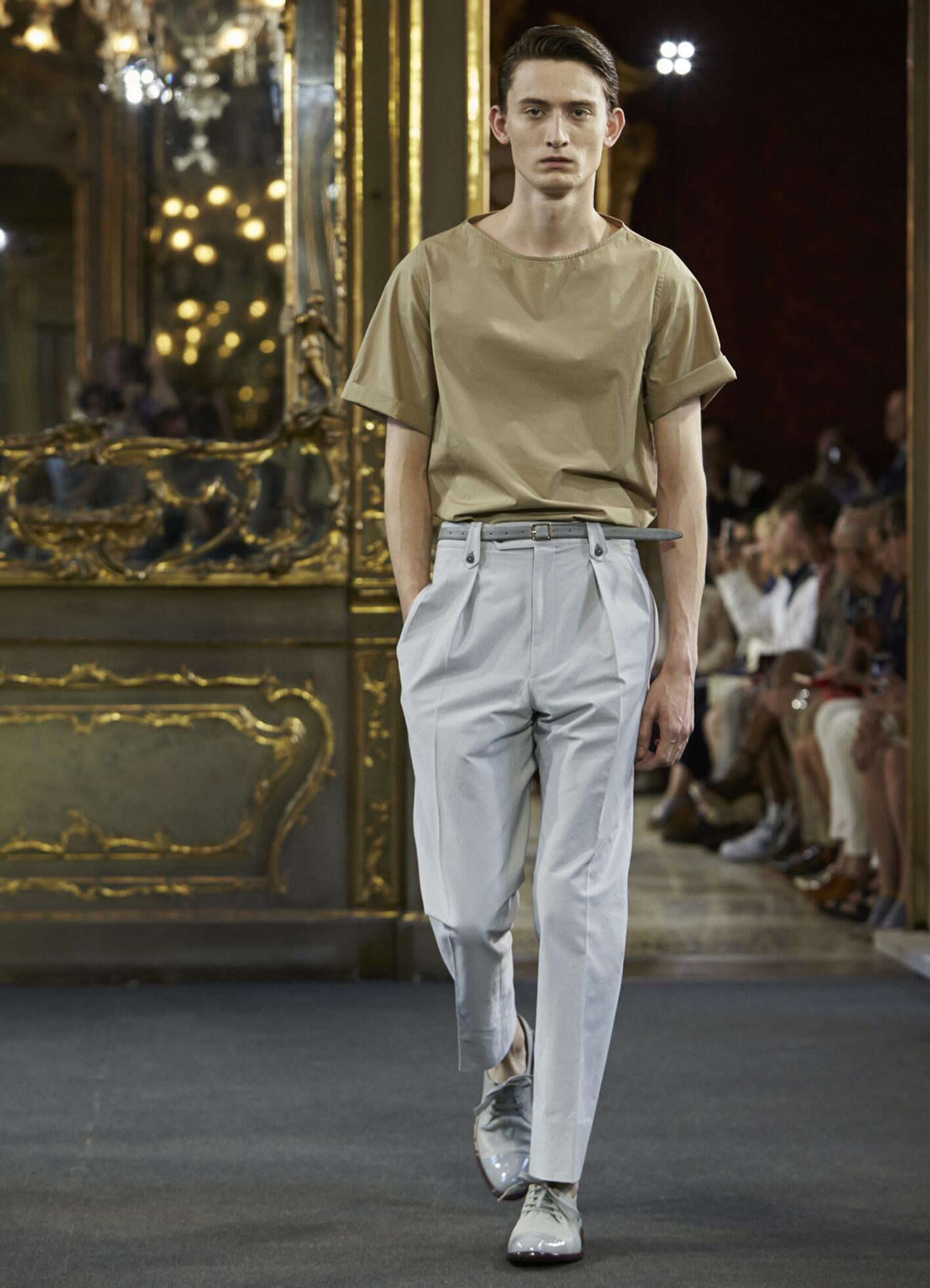 Corneliani Collection Milan Fashion Week Menswear
