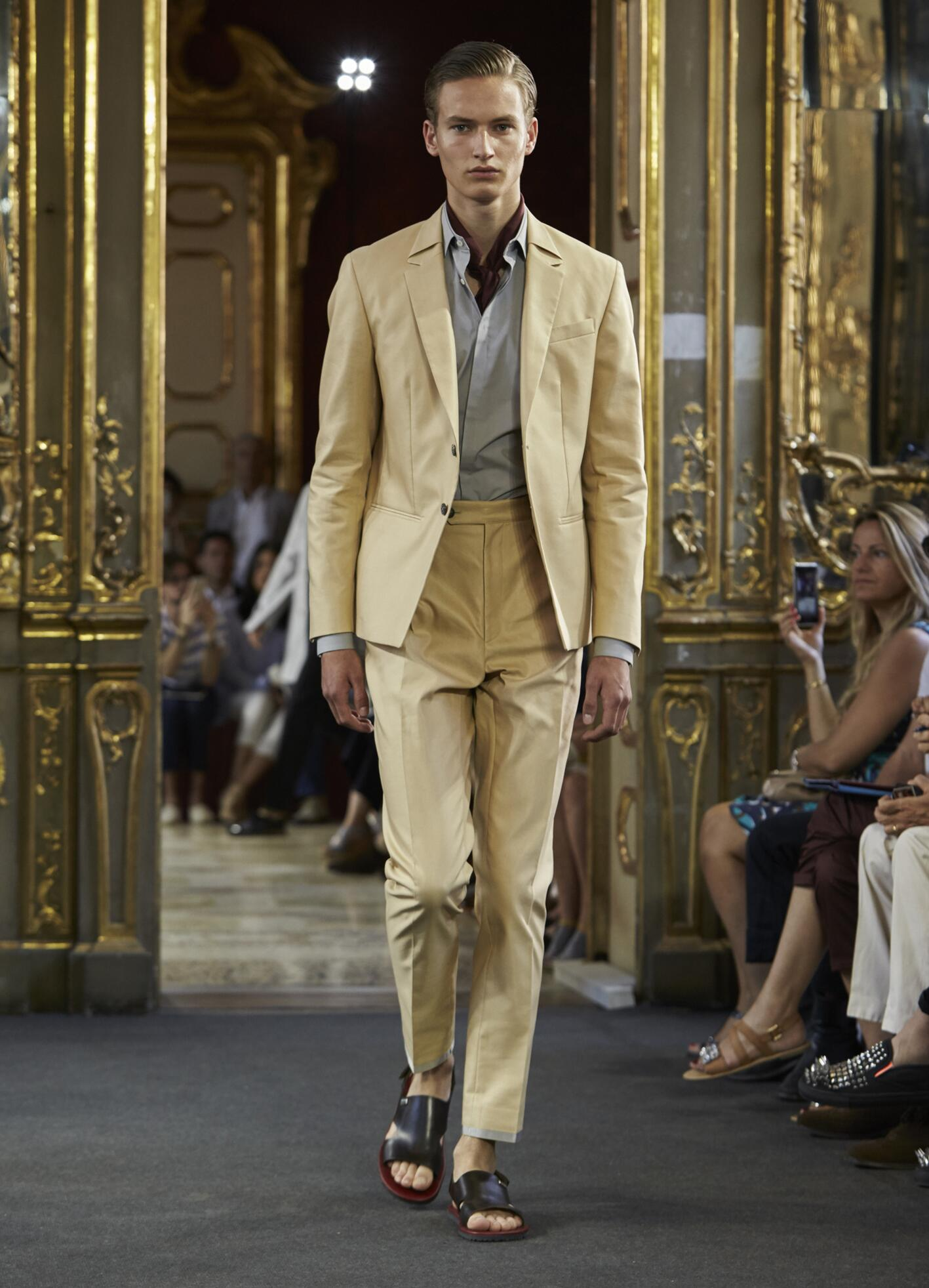 Corneliani Collection Milan Fashion Week