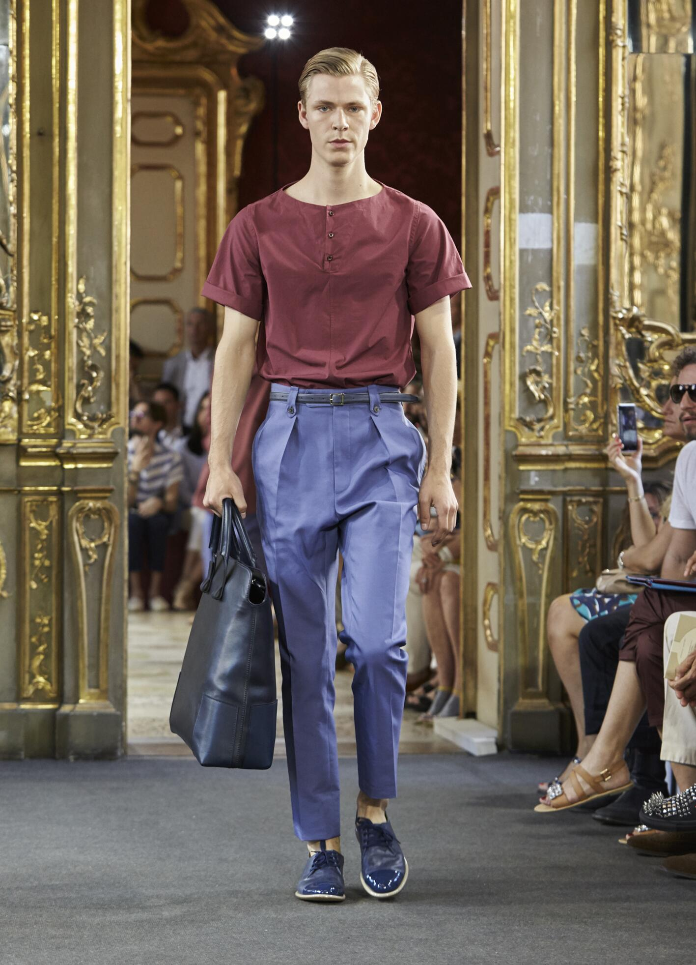 Corneliani Spring Summer 2016 Menswear Collection Milan Fashion Week Fashion Show
