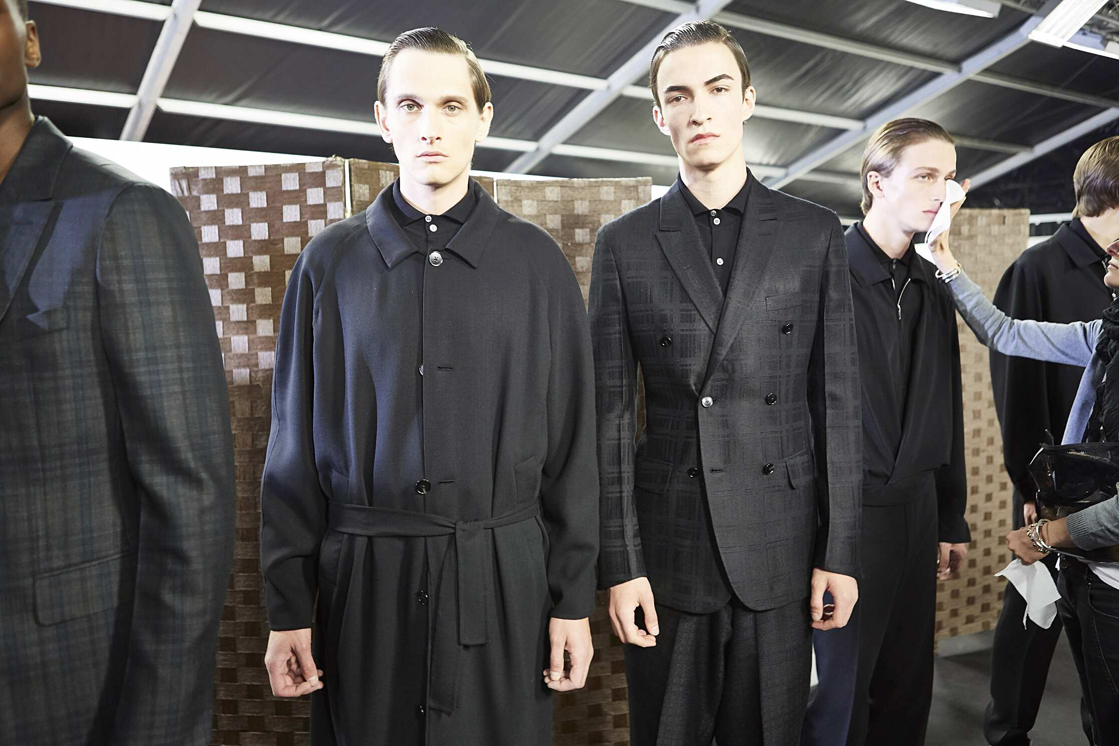 Ermenegildo Zegna Backstage Fashion Models Menswear