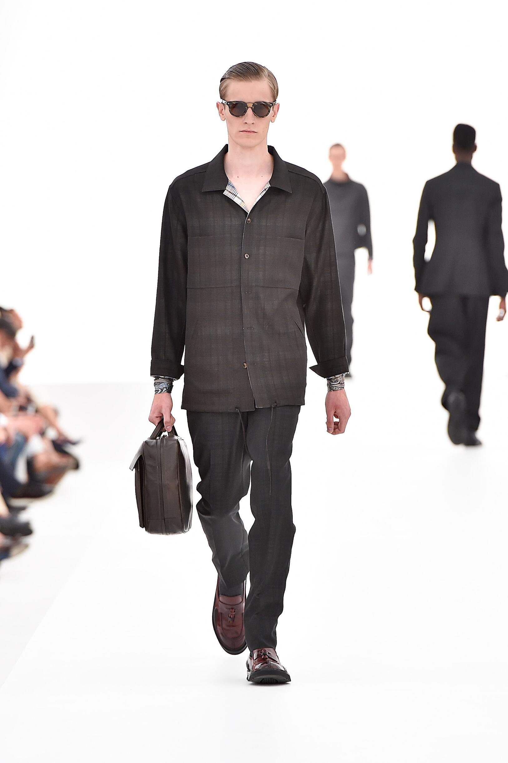 Ermenegildo Zegna Couture Collection Catwalk