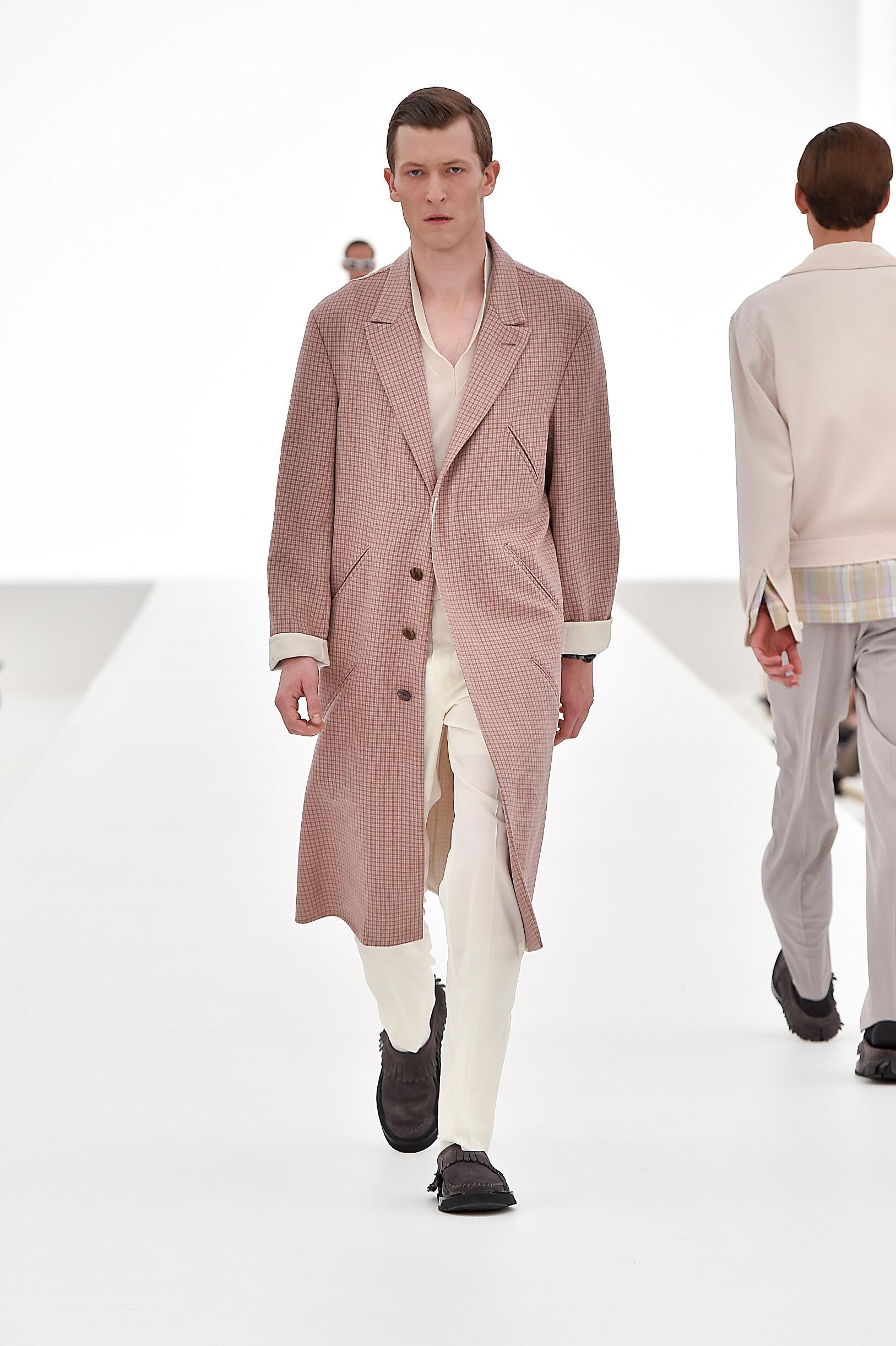 Ermenegildo Zegna Couture Collection Man Milan Fashion Week