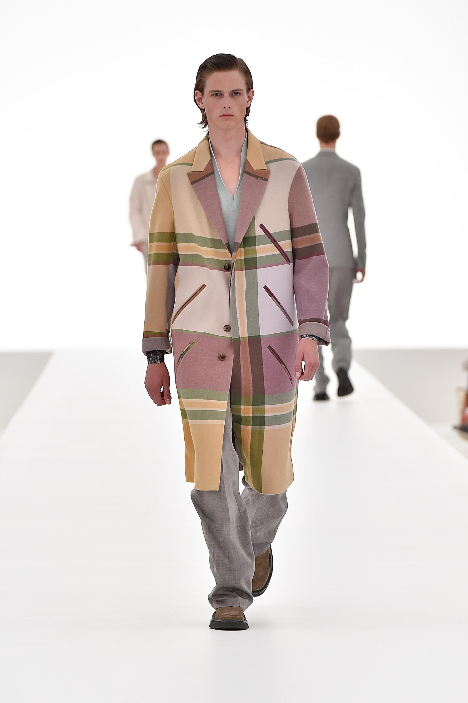 Ermenegildo Zegna Couture Collection Milan Fashion Week Menswear