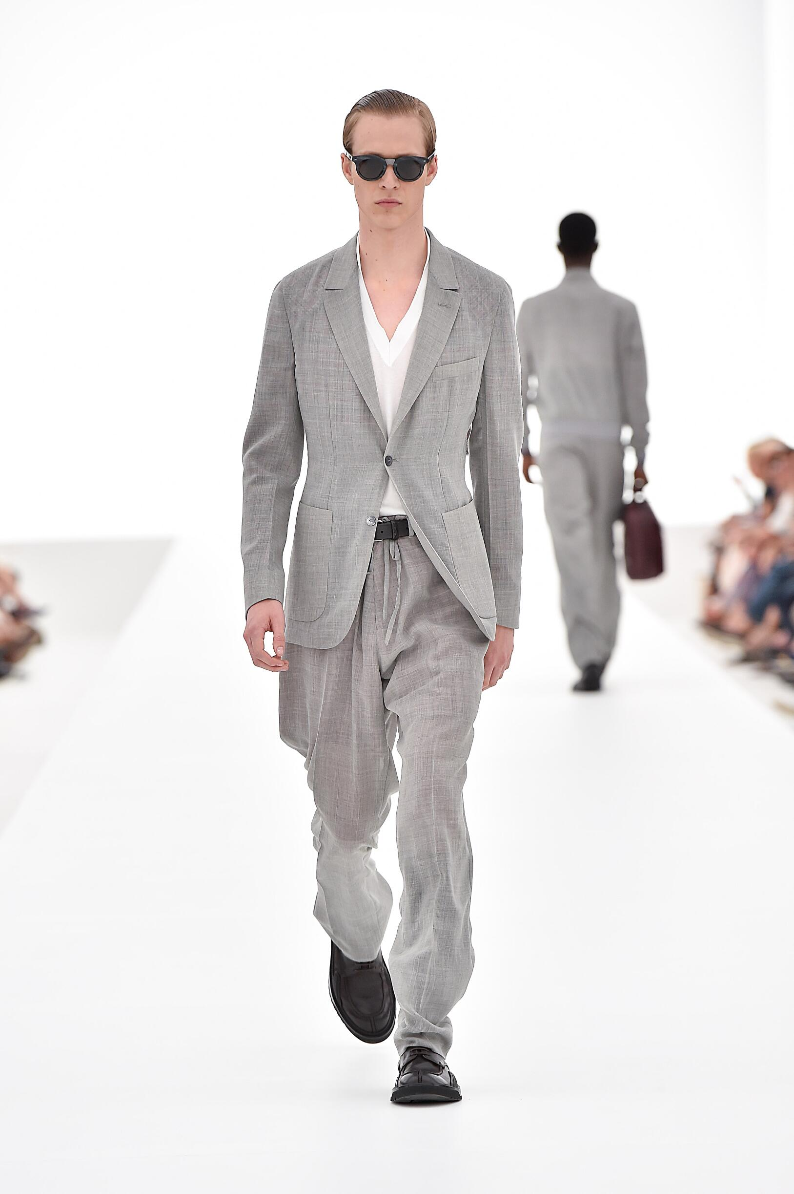 Ermenegildo Zegna Couture Collection Milan Fashion Week