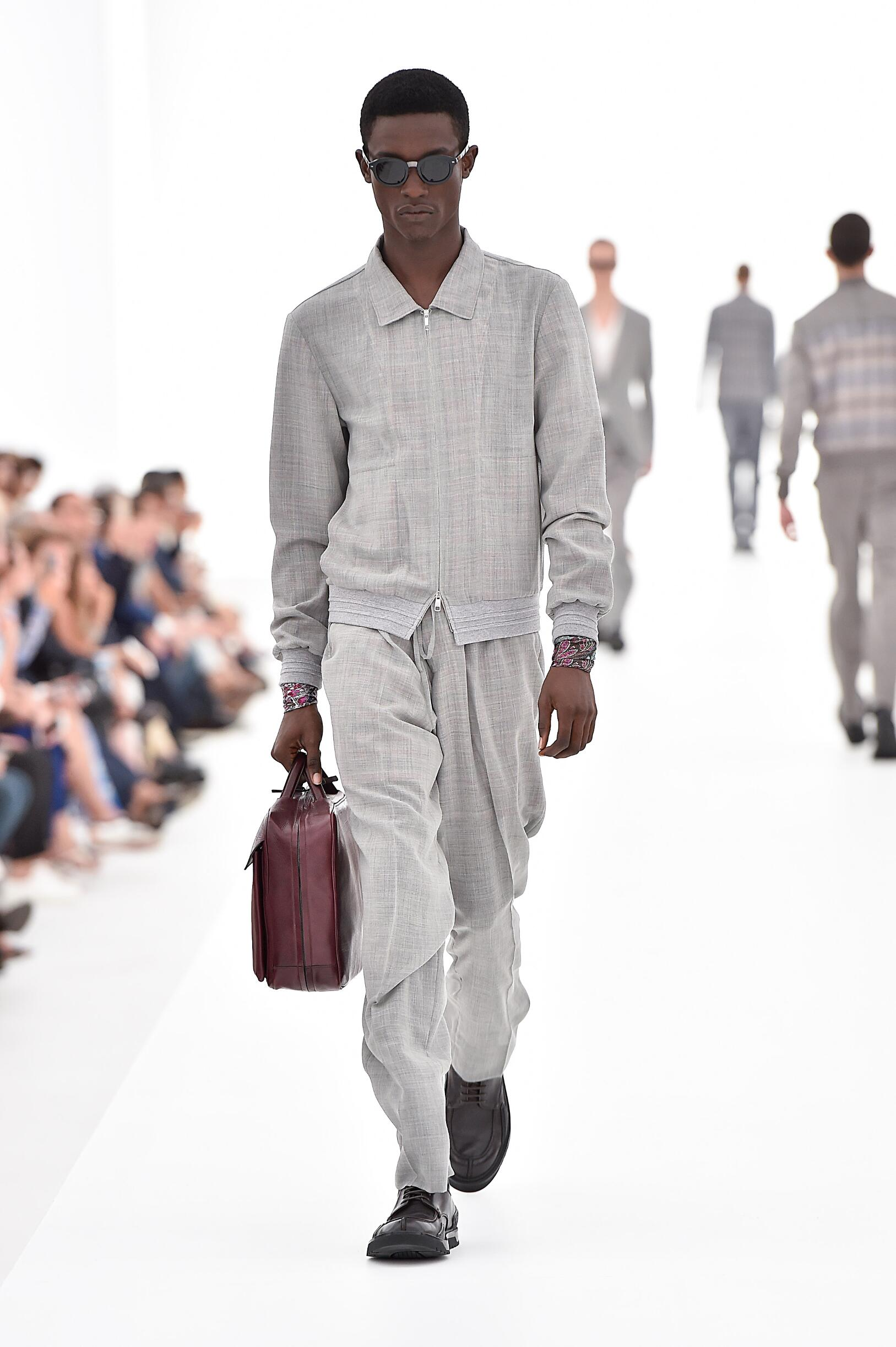 Ermenegildo Zegna Couture Spring Summer 2016 Mens Collection Milan Fashion Week