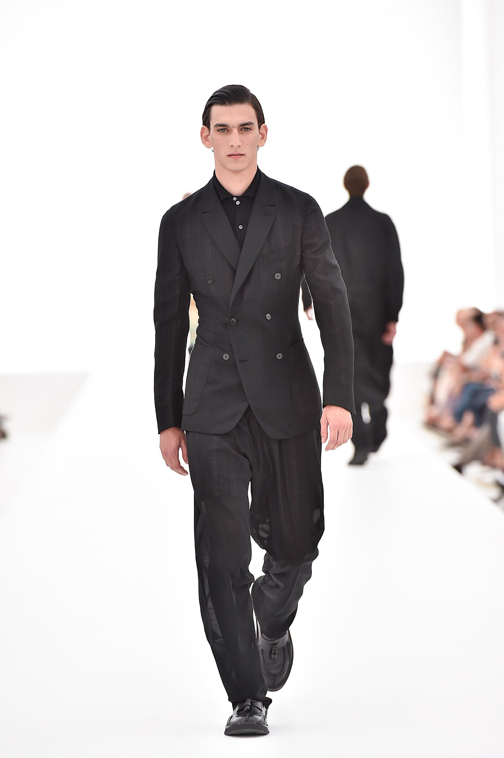 Ermenegildo Zegna Couture Spring Summer 2016 Menswear Collection Milan Fashion Week Fashion Show