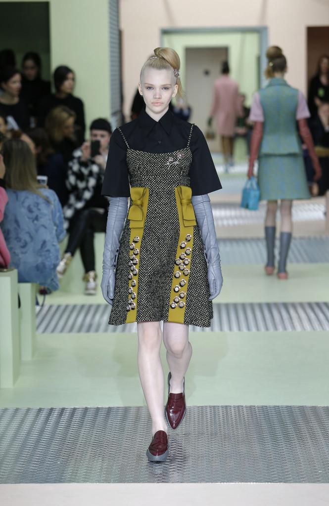 Fall 2015 Fashion Trends Prada Collection