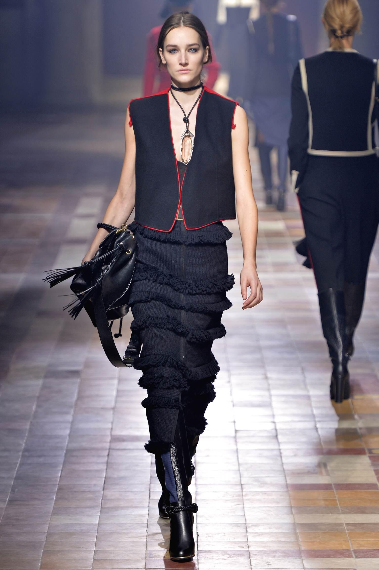 Fall 2015 Women Fashion Show Lanvin Collection