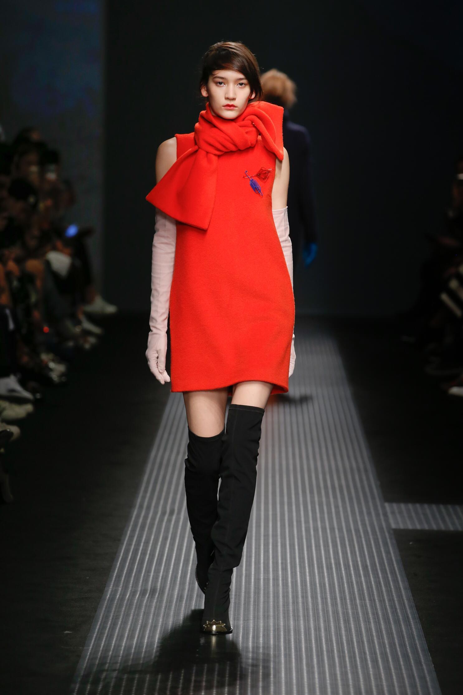 Fall 2015 Women Fashion Show Msgm Collection