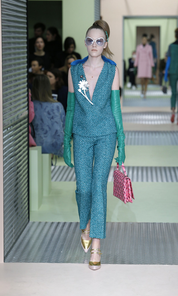 Fall 2015 Women Fashion Show Prada Collection
