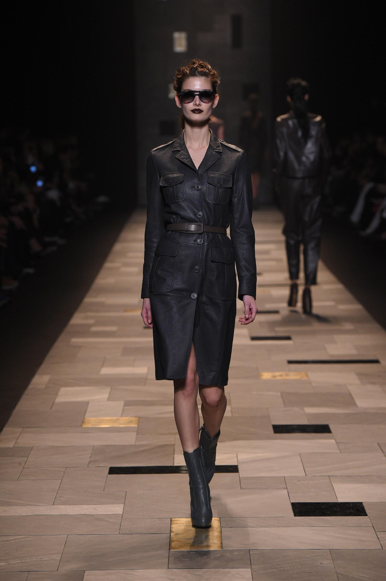 Fall 2015 Women Fashion Show Trussardi Collection