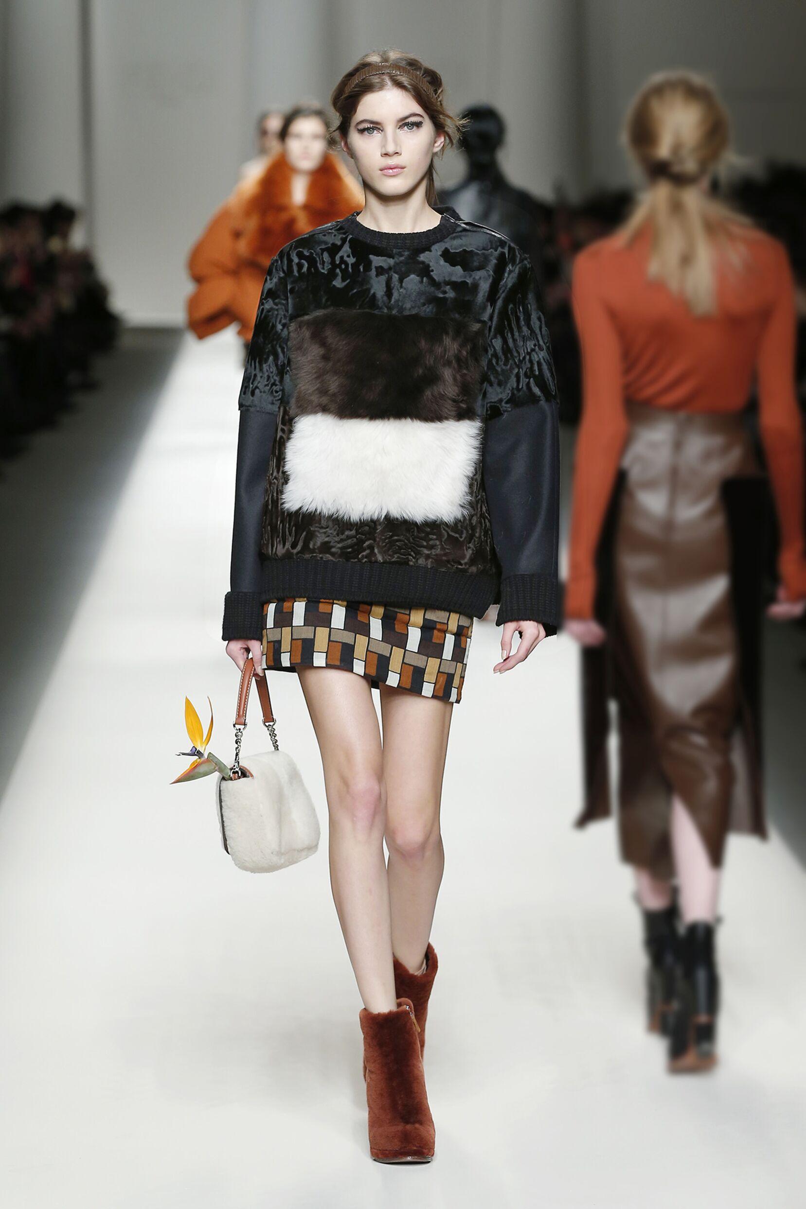 Fall Fashion 2015 2016 Fendi Collection