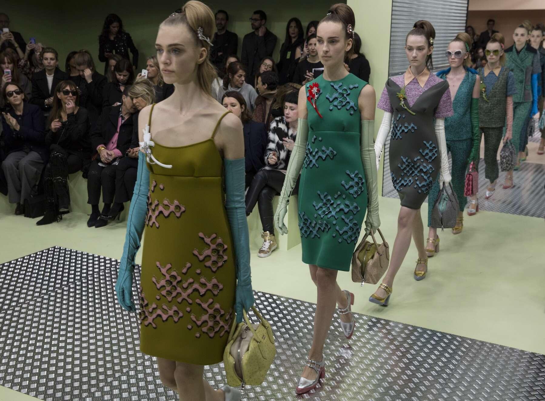 Fall Fashion 2015 2016 Prada Finale