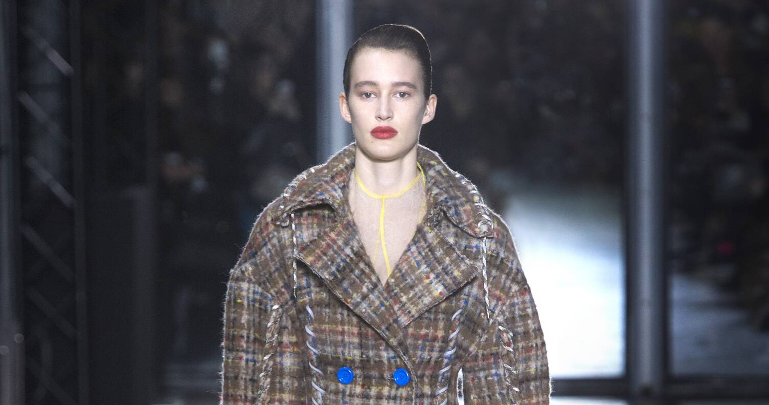 Fall Fashion Woman Acne Studios Collection 2015