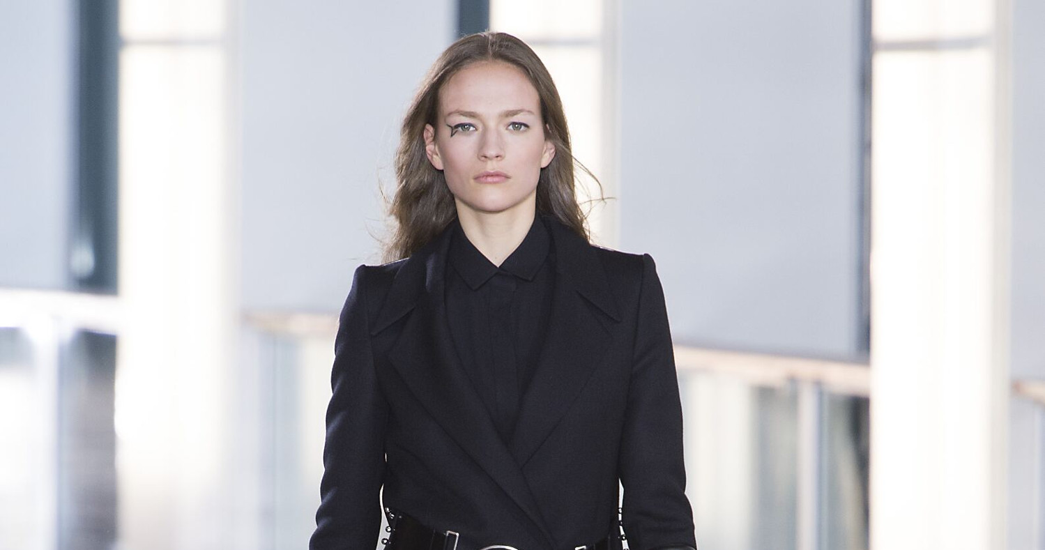 Fall Fashion Woman Anthony Vaccarello Collection 2015