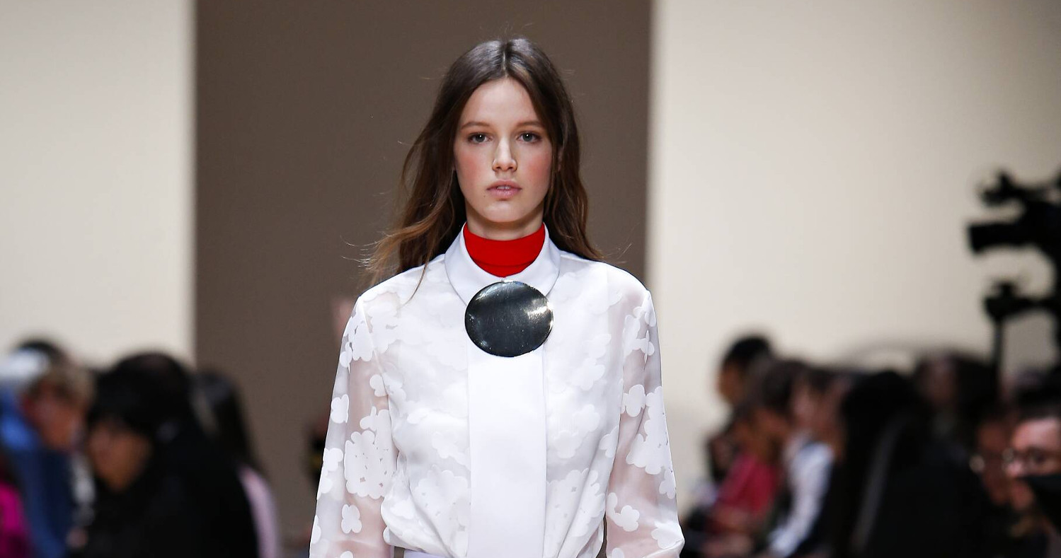 Fall Fashion Woman Carven Collection 2015