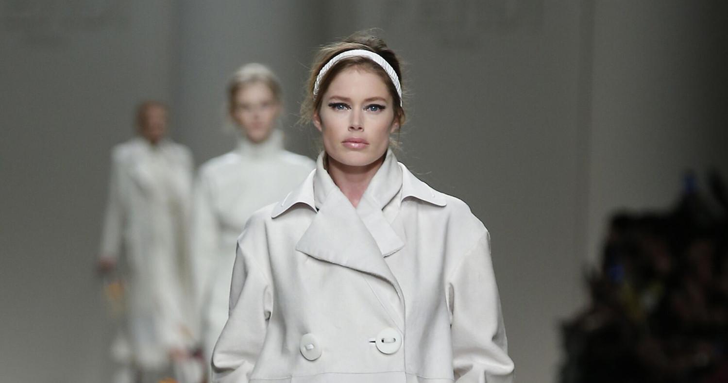 Fall Fashion Woman Fendi Collection 2015