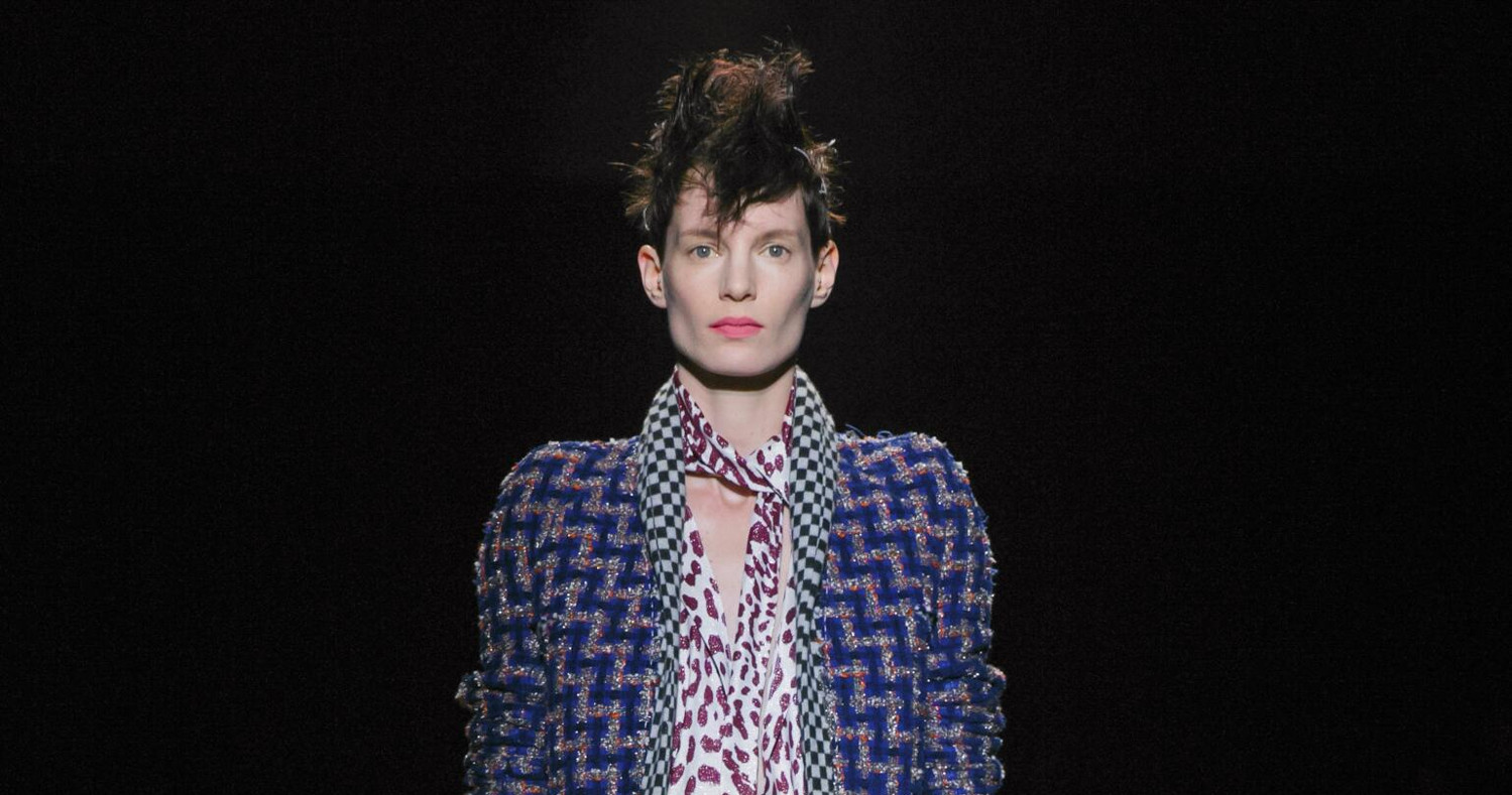 Haider Akermann Fashion Show Ready To Wear Collection Fall Winter 2015 in Paris