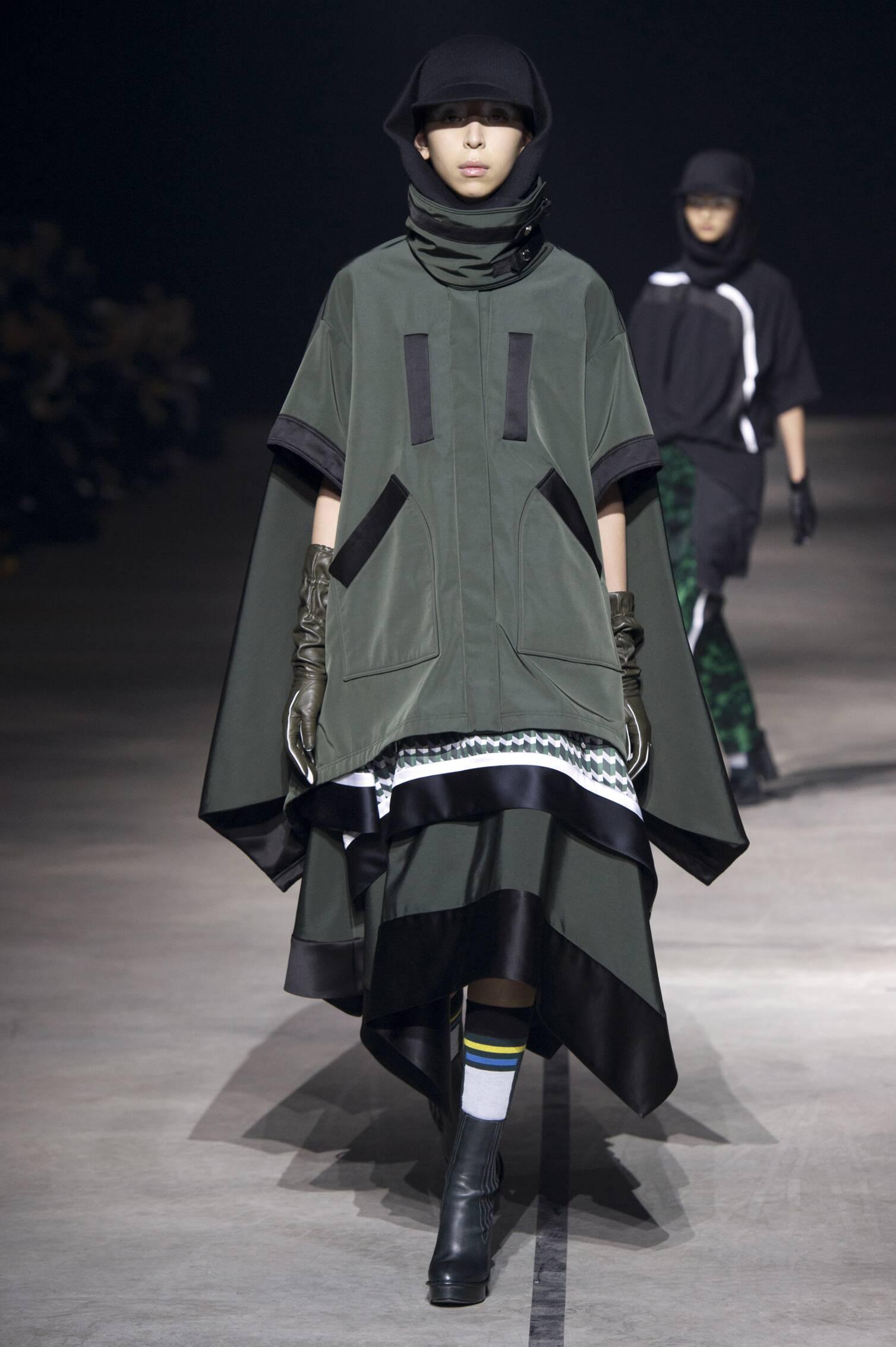 Fall Fashion Woman Kenzo Collection