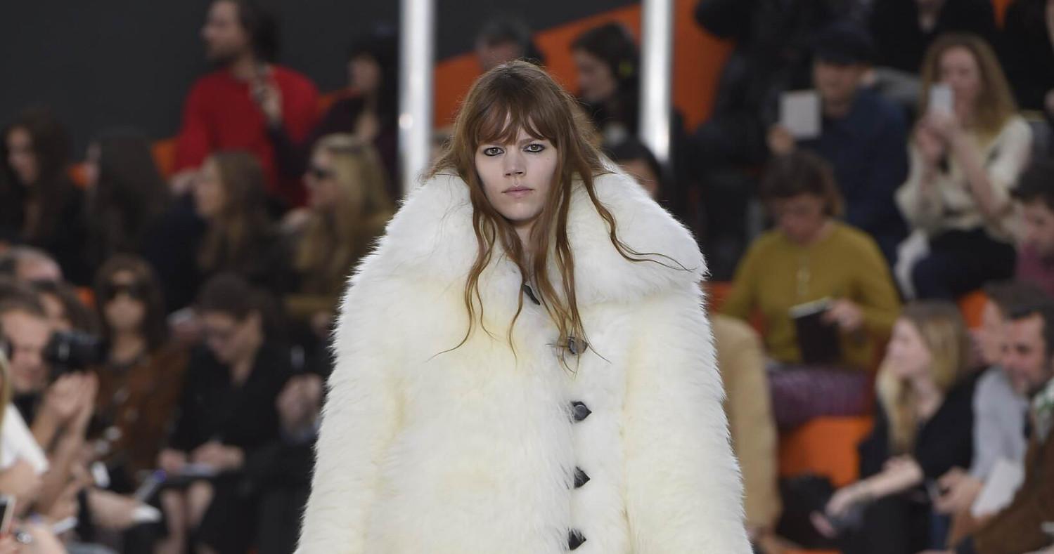 Fall Fashion Woman Louis Vuitton Collection 2015