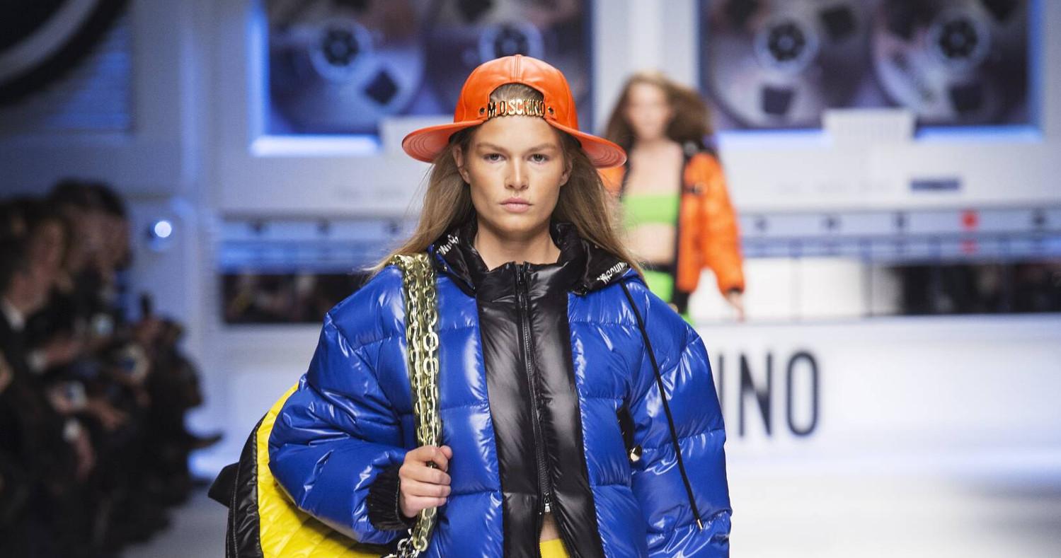 Fall Fashion Woman Moschino Collection 2015